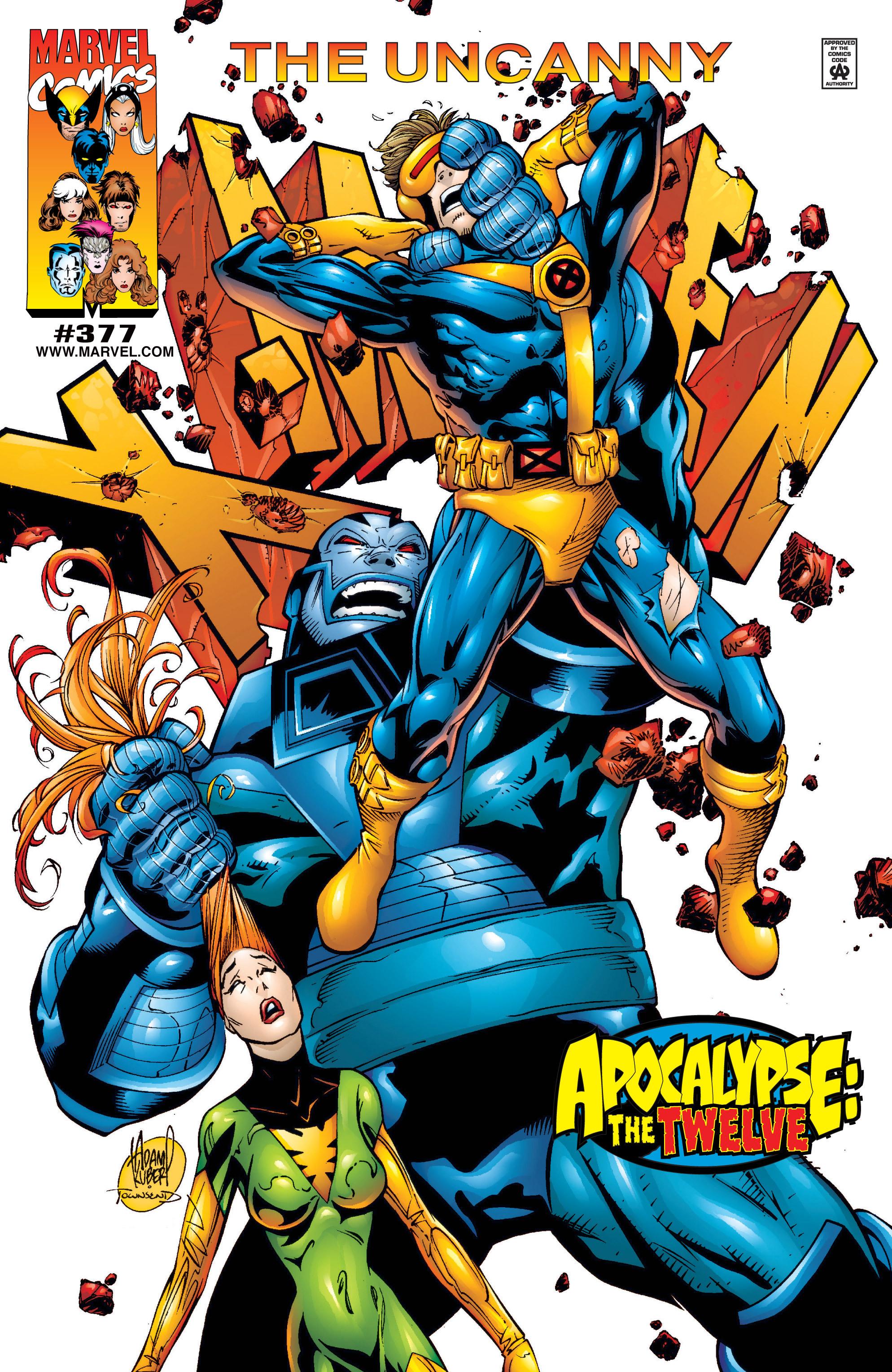 Uncanny X-Men (1963) 377 Page 1