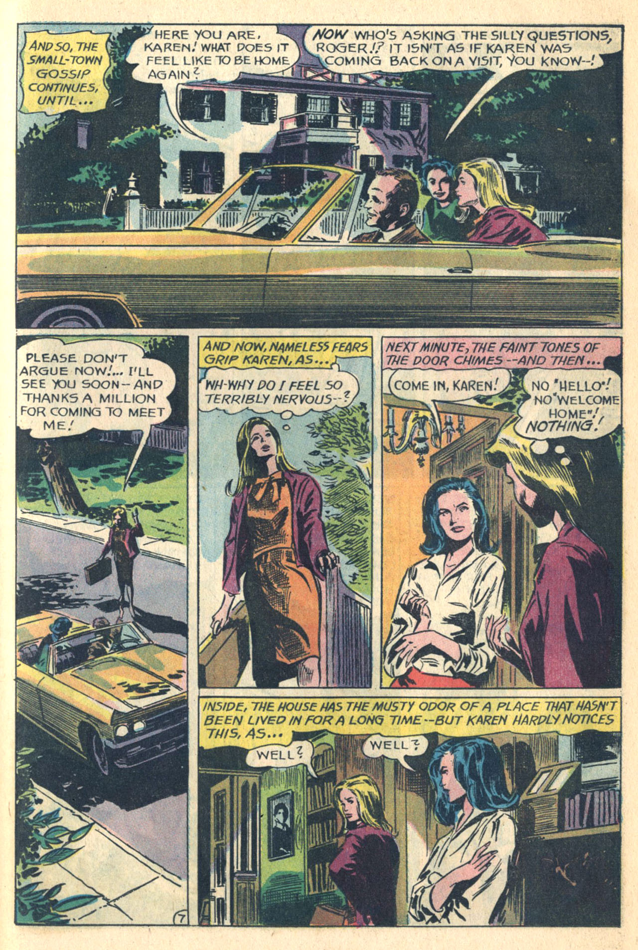 Read online Secret Hearts comic -  Issue #110 - 25