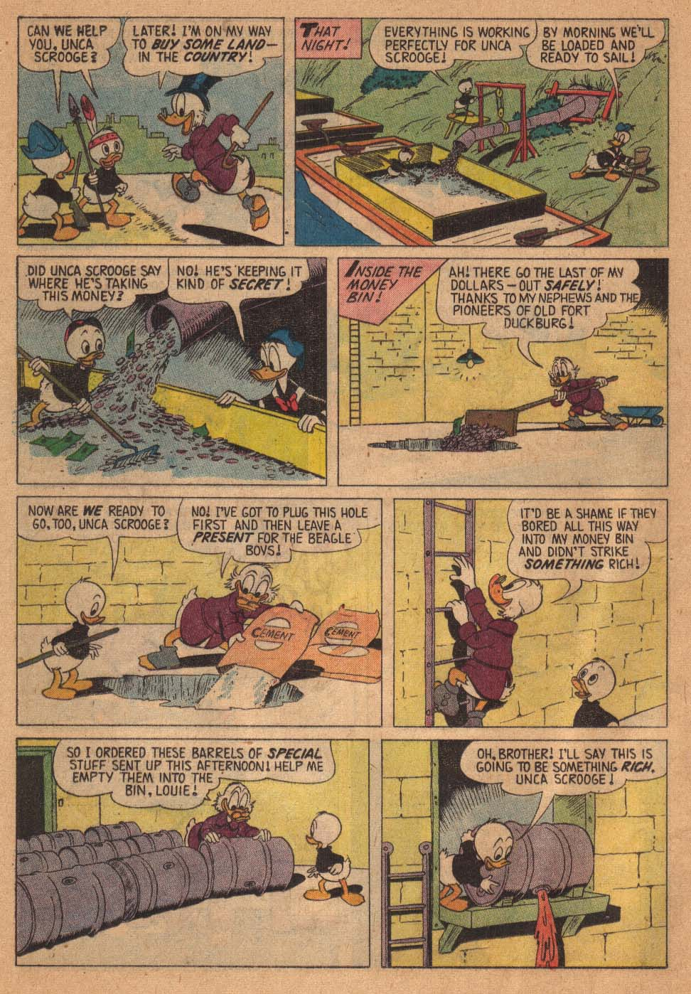 Uncle Scrooge (1953) Issue #21 #21 - English 12