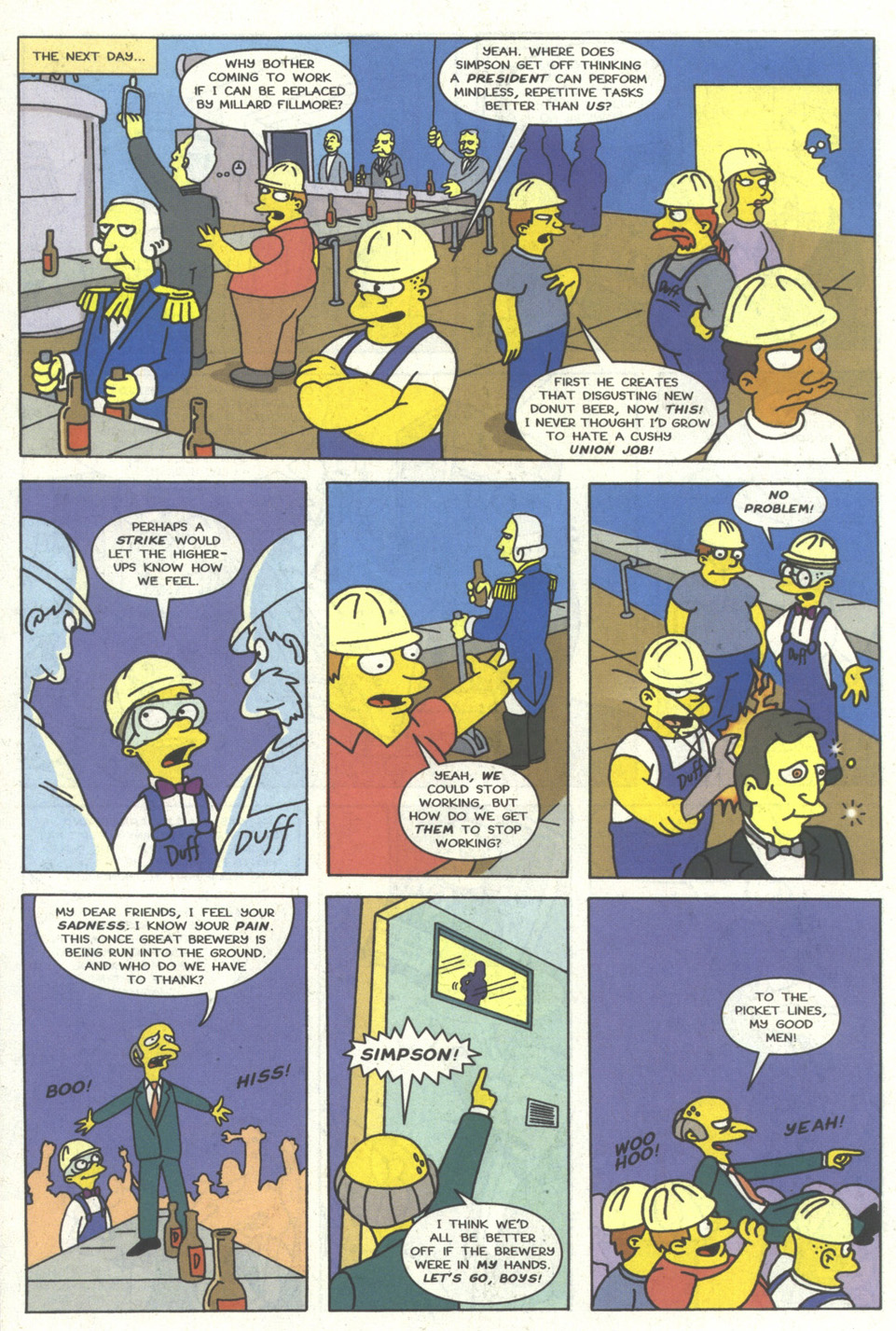 Read online Simpsons Comics comic -  Issue #14 - 19