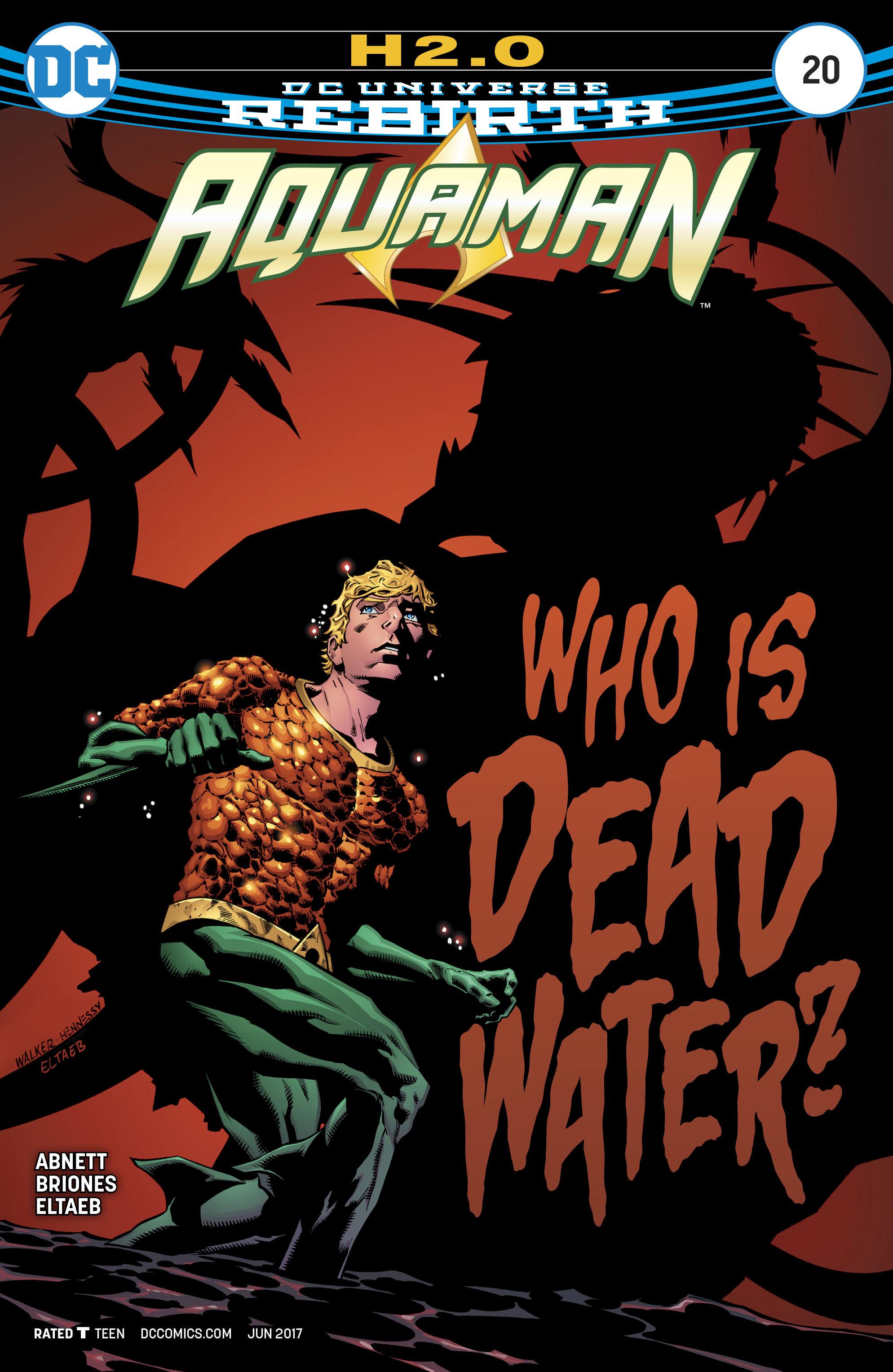 Aquaman (2016) 20 Page 1
