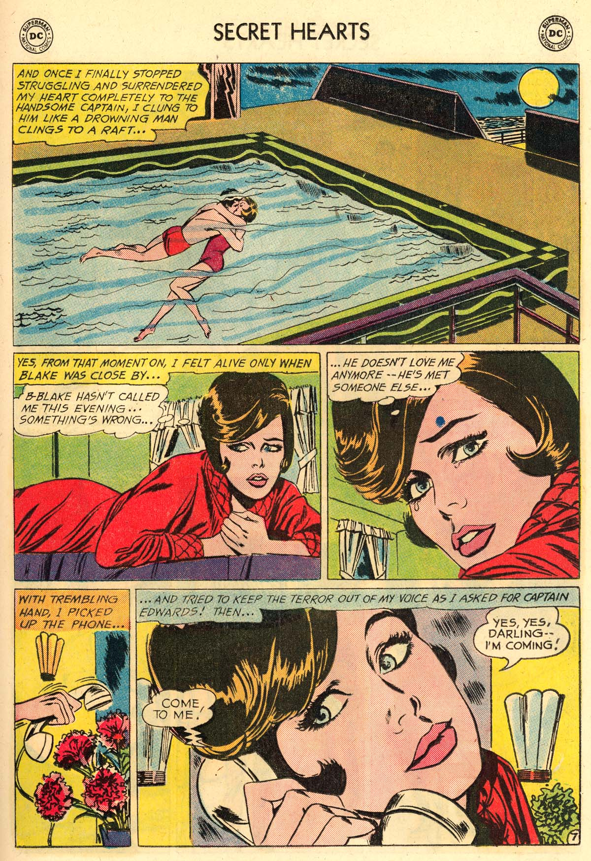 Read online Secret Hearts comic -  Issue #106 - 25