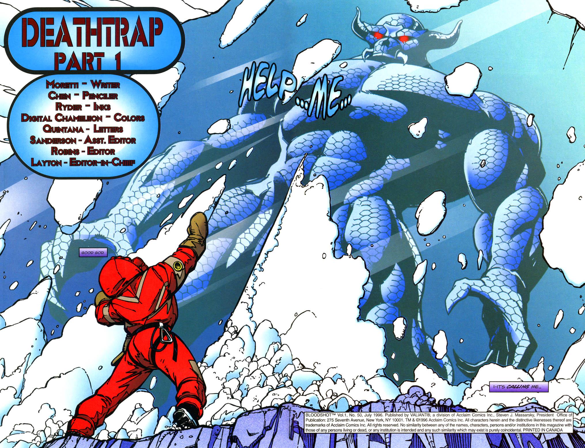 Read online Bloodshot (1993) comic -  Issue #50 - 3