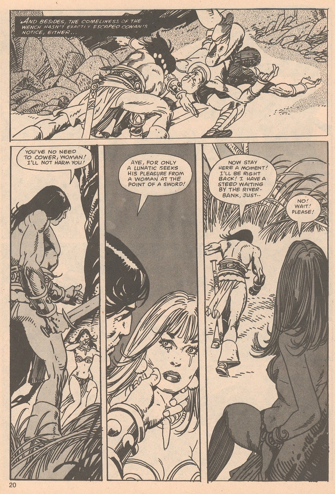 The Savage Sword Of Conan Issue #65 #66 - English 20