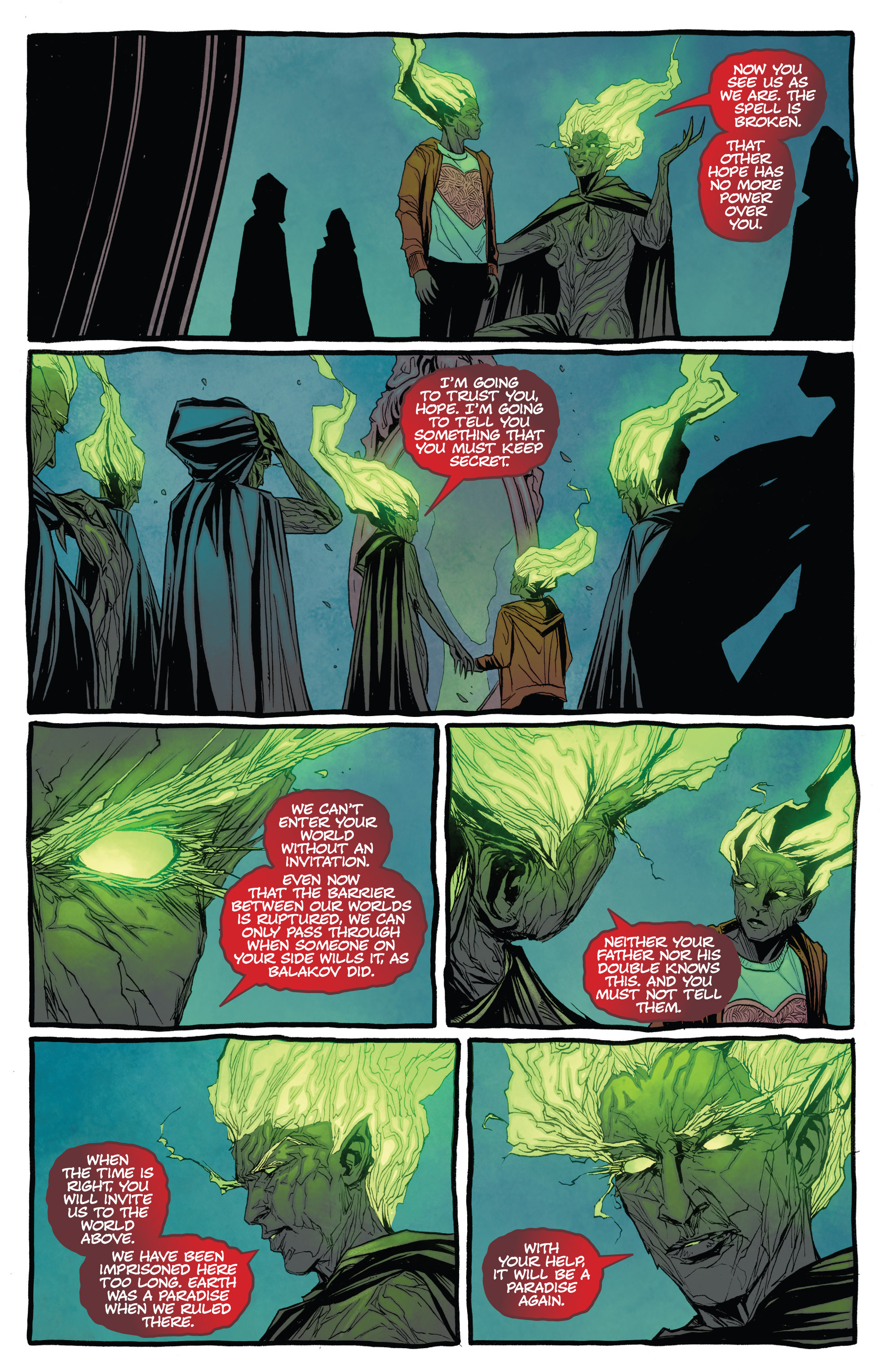 Read online The Darkness (2007) comic -  Issue #113 - 17