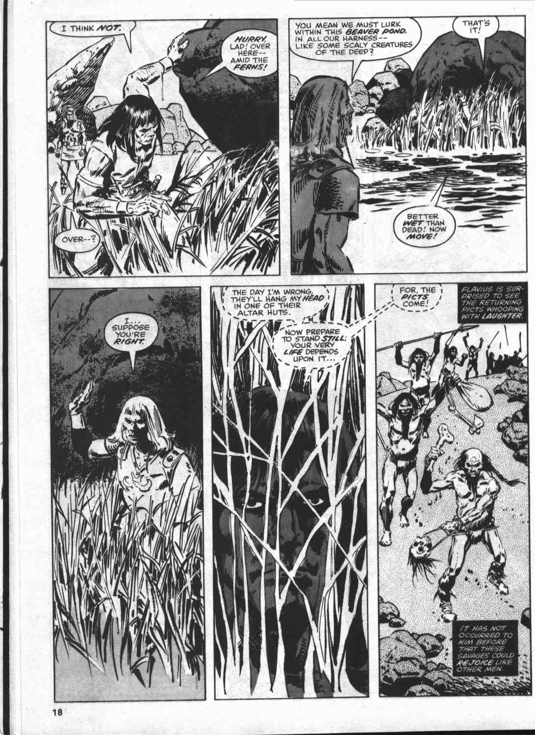 The Savage Sword Of Conan Issue #46 #47 - English 17