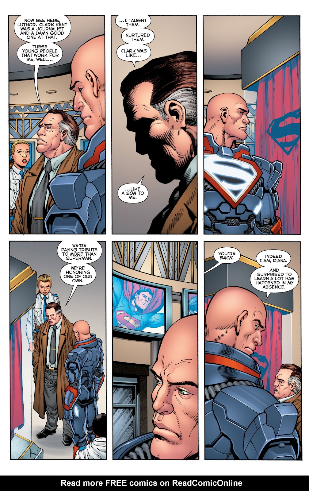 Justice League (2011) Issue #52 #62 - English 6