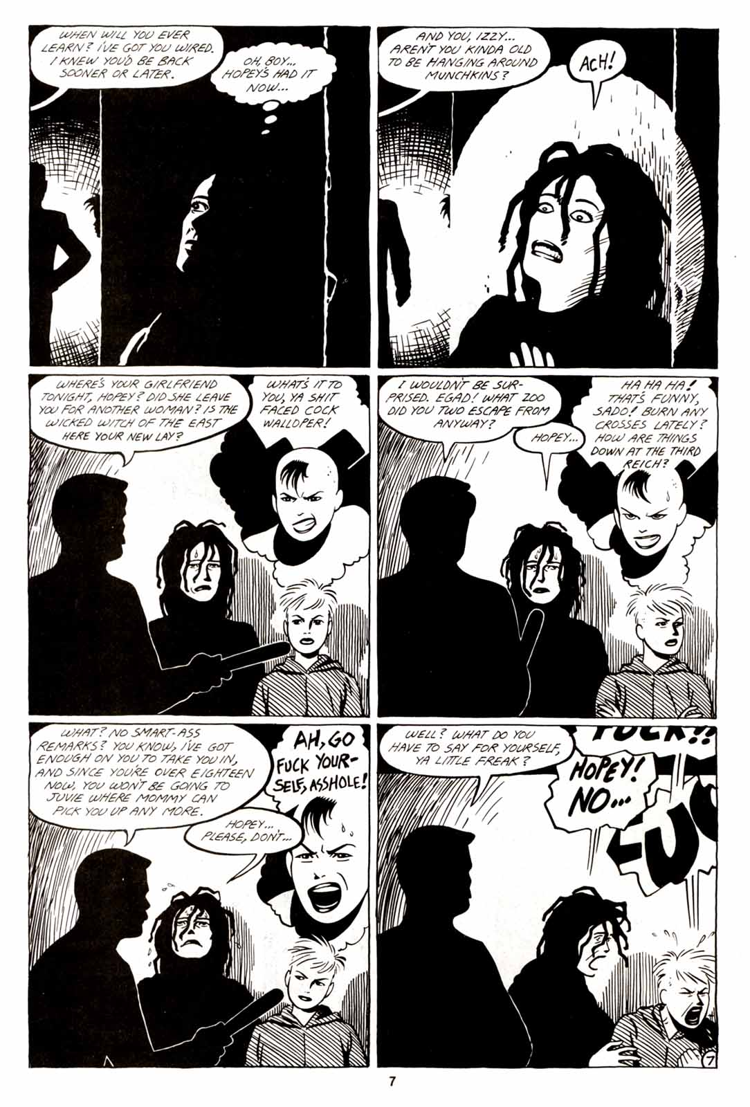 Love and Rockets (1982) Issue #5 #4 - English 9