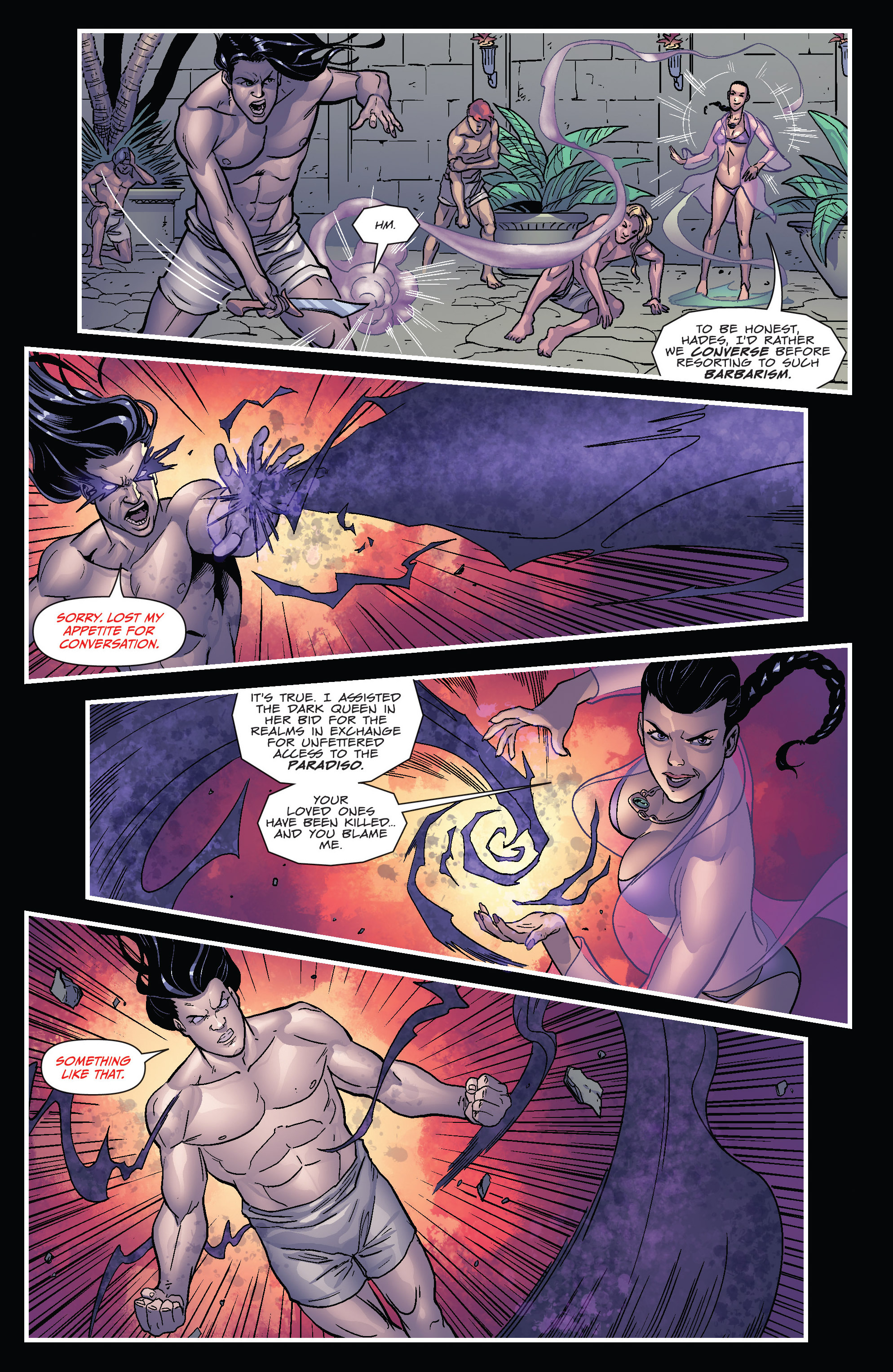 Read online Grimm Fairy Tales presents Cinderella: Age of Darkness comic -  Issue #1 - 11