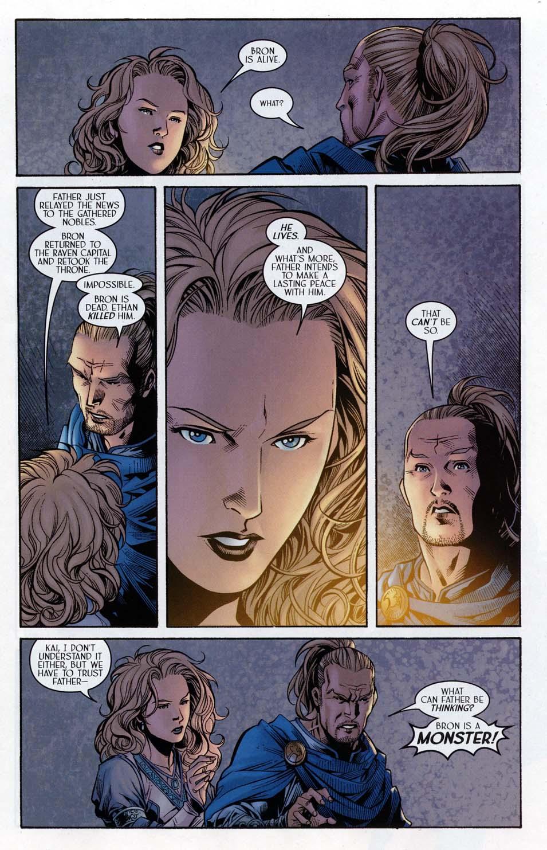 Read online Scion comic -  Issue #32 - 5