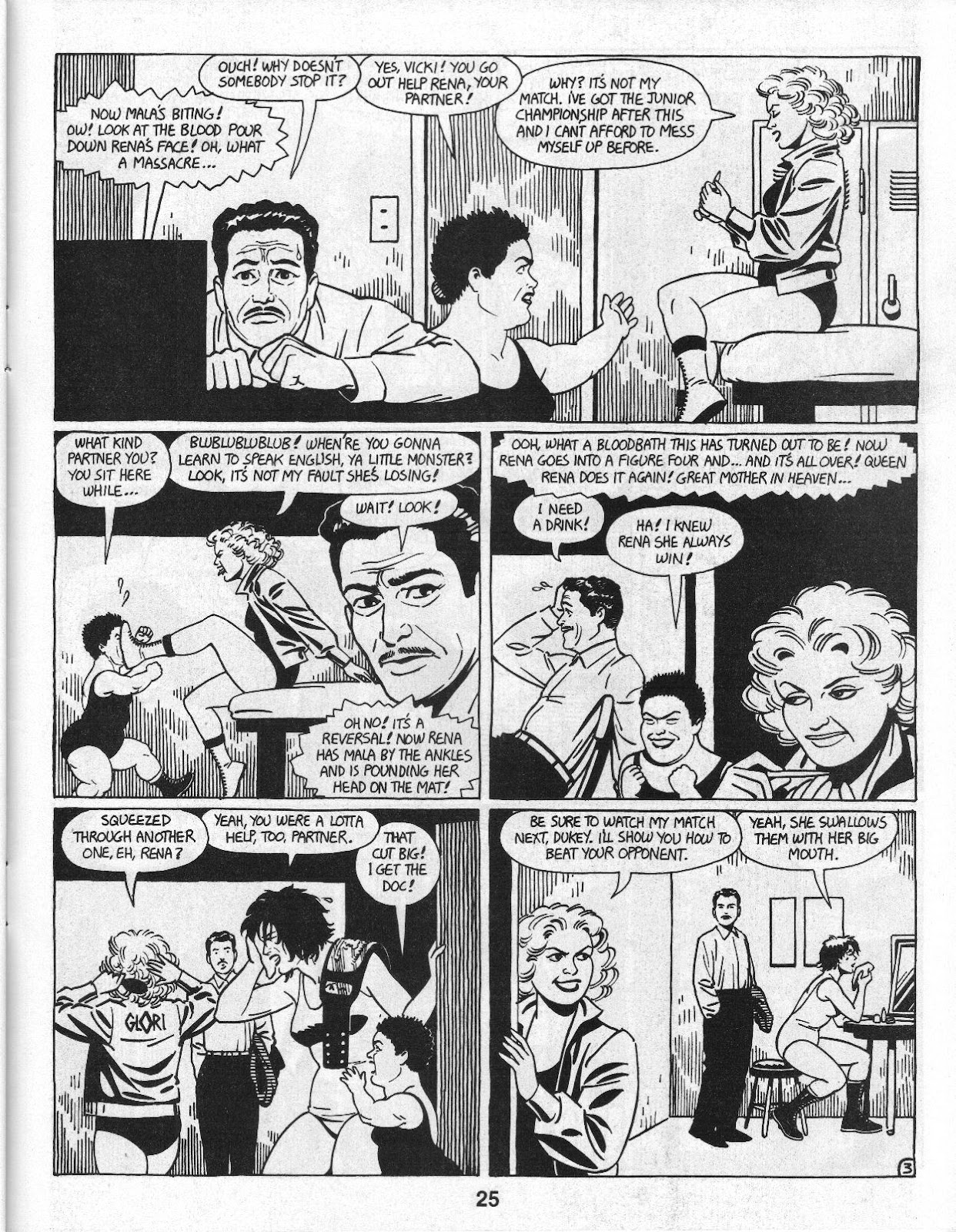 Love and Rockets (1982) Issue #14 #13 - English 27