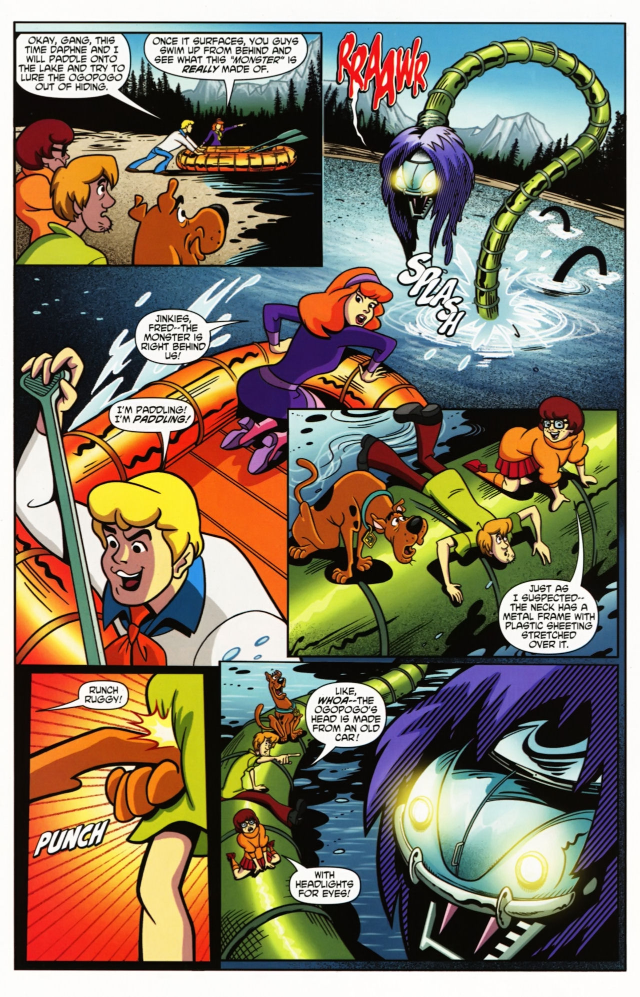 Read online Scooby-Doo: Where Are You? comic -  Issue #1 - 13