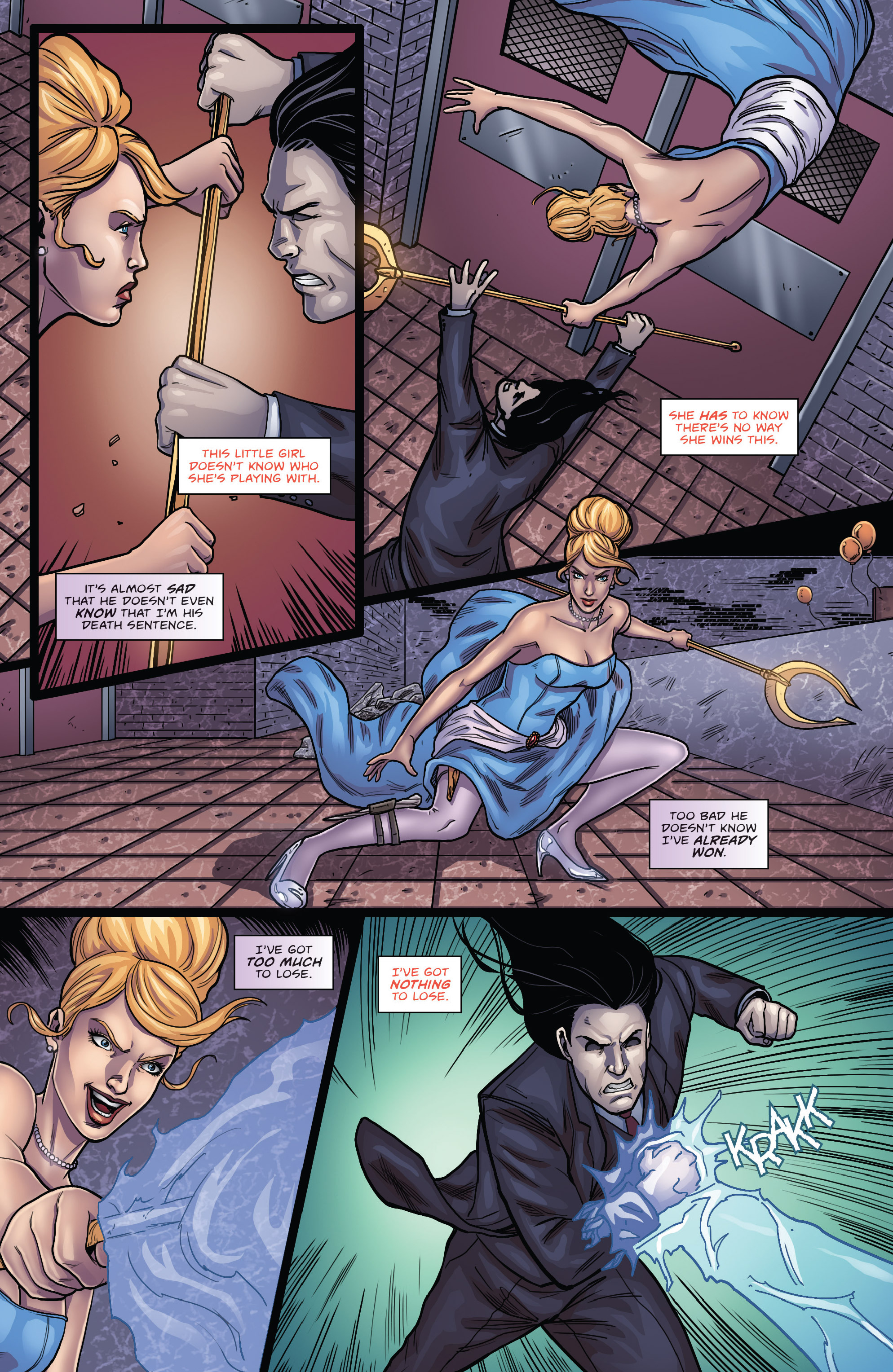 Read online Grimm Fairy Tales presents Cinderella: Age of Darkness comic -  Issue #3 - 11