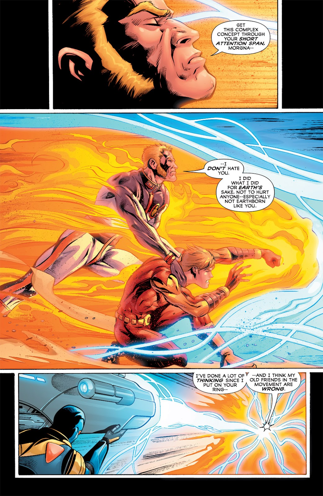 Legion of Super-Heroes (2010) Issue #5 #6 - English 21