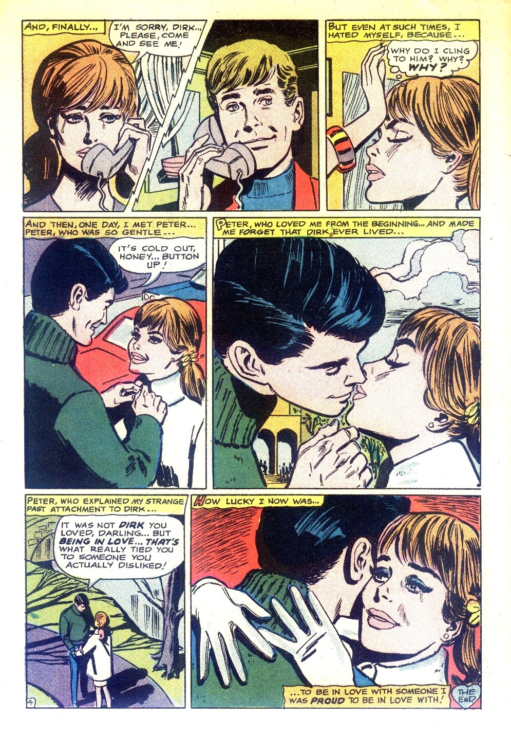 Read online Secret Hearts comic -  Issue #130 - 6