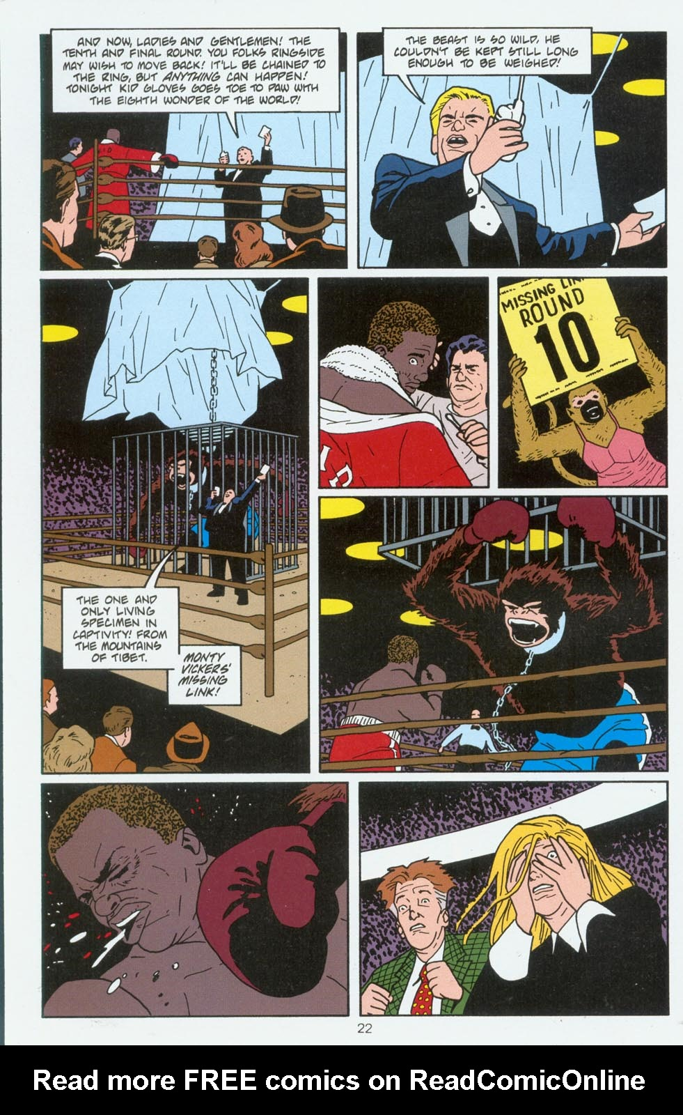 Read online Terminal City comic -  Issue #6 - 23