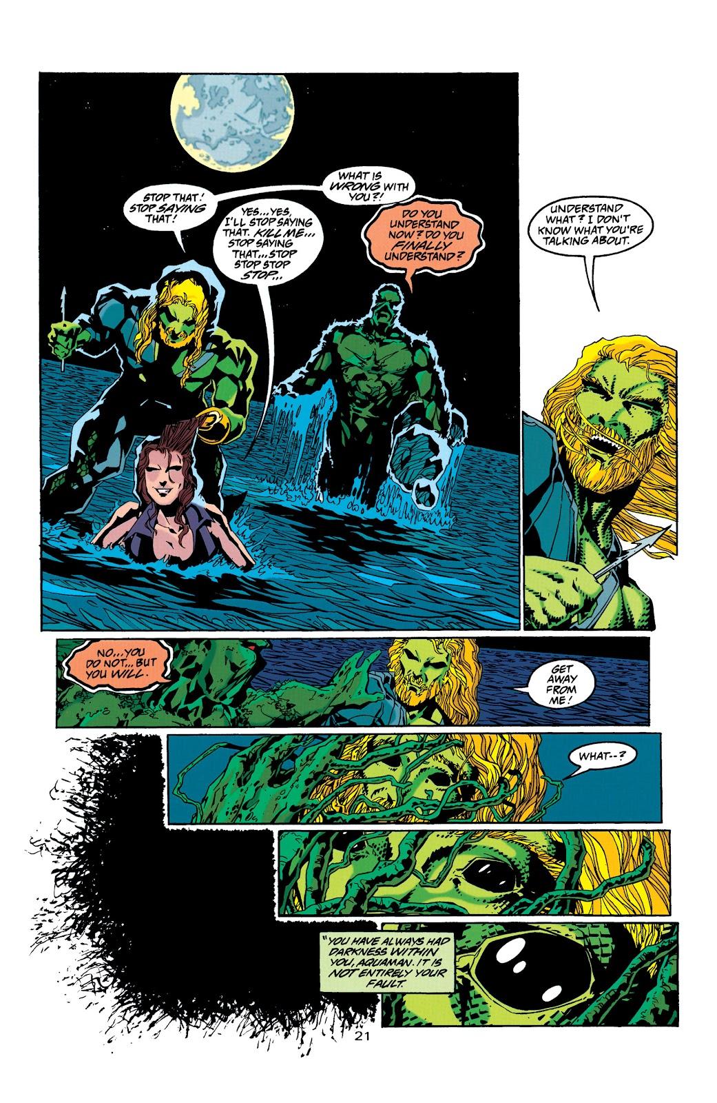 Aquaman (1994) Issue #32 #38 - English 21