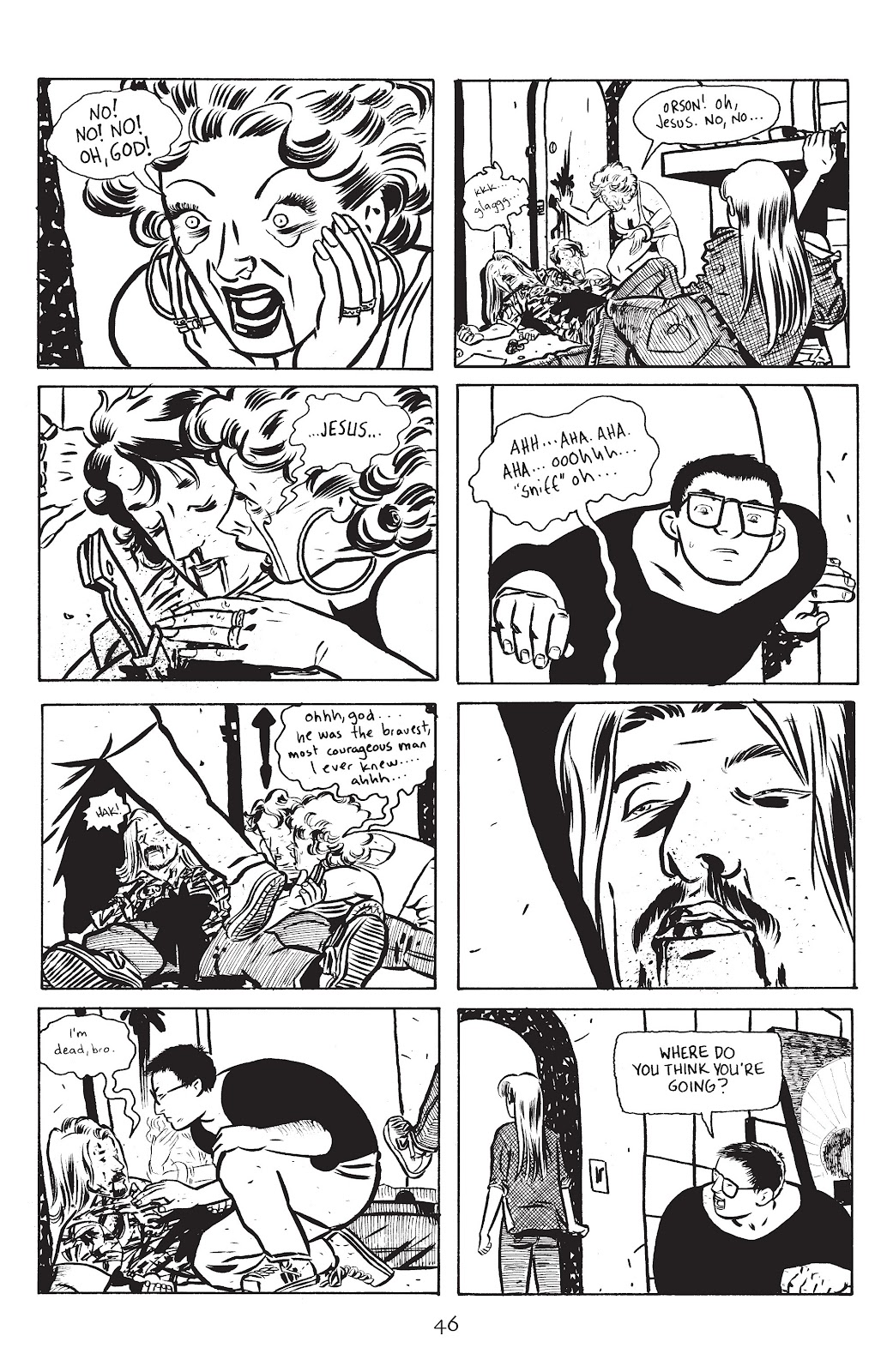 Stray Bullets Issue #14 #14 - English 48