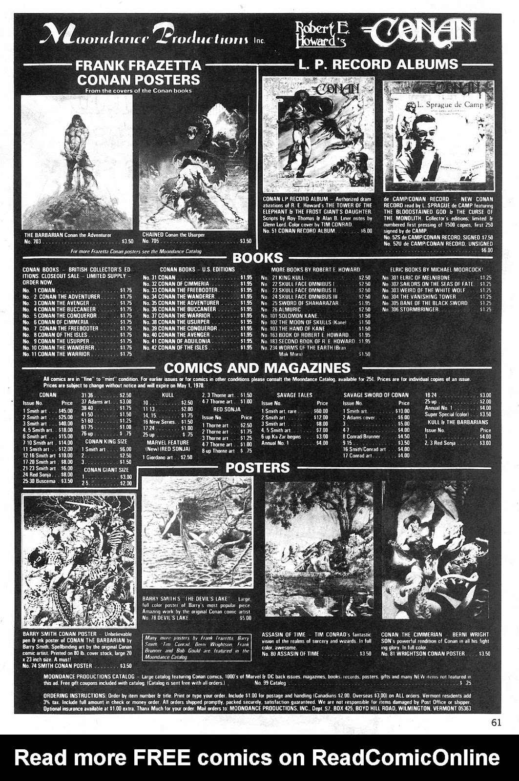 The Savage Sword Of Conan Issue #29 #30 - English 61