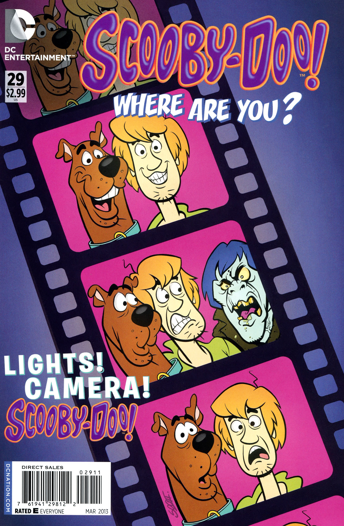 Read online Scooby-Doo: Where Are You? comic -  Issue #29 - 1
