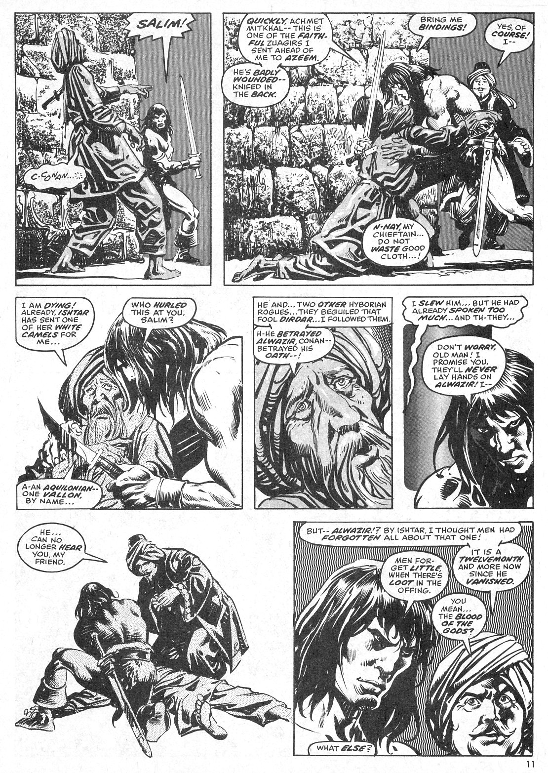 The Savage Sword Of Conan Issue #28 #29 - English 11