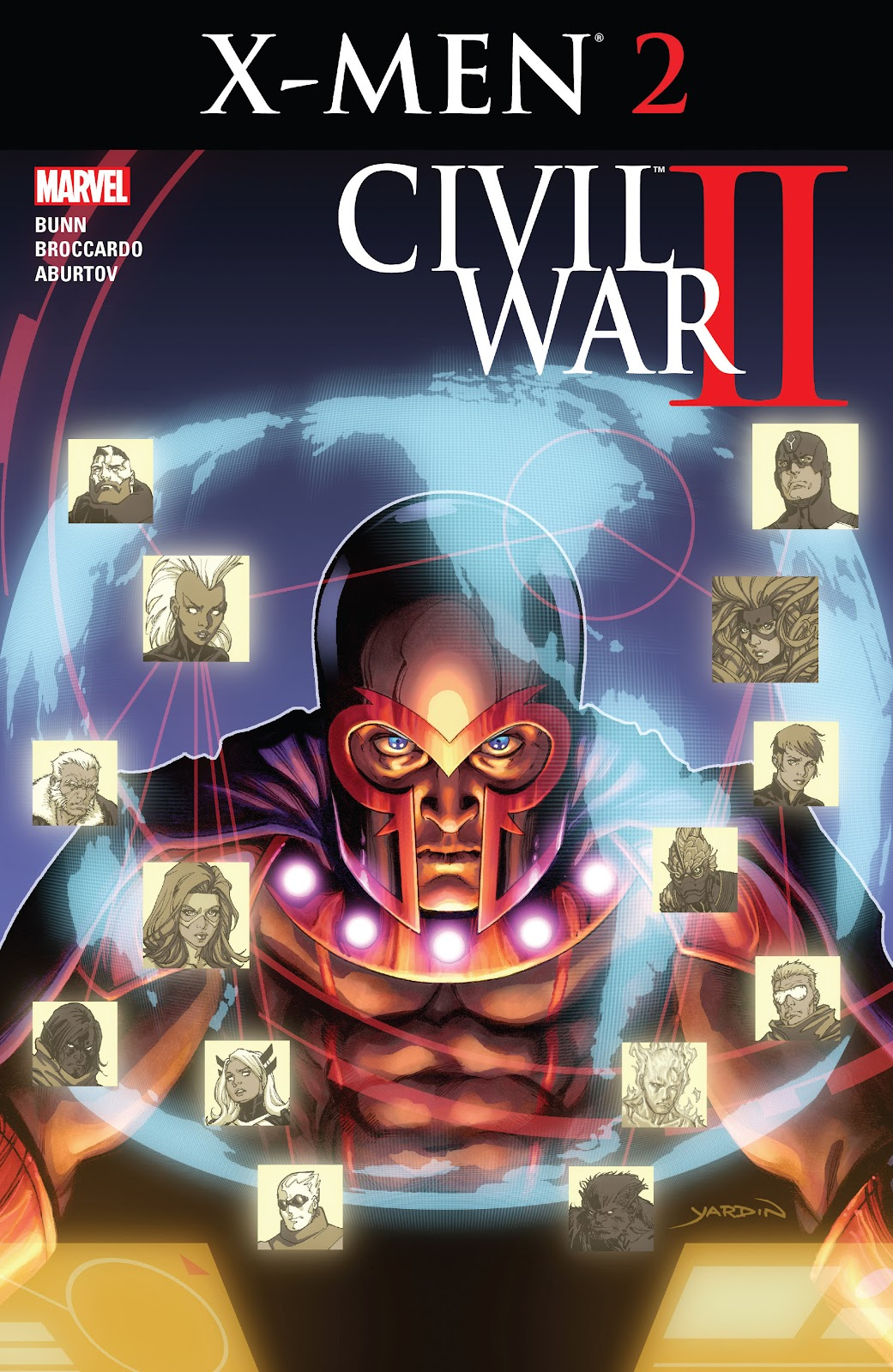 Civil War II: X-Men Issue #2 #2 - English 1
