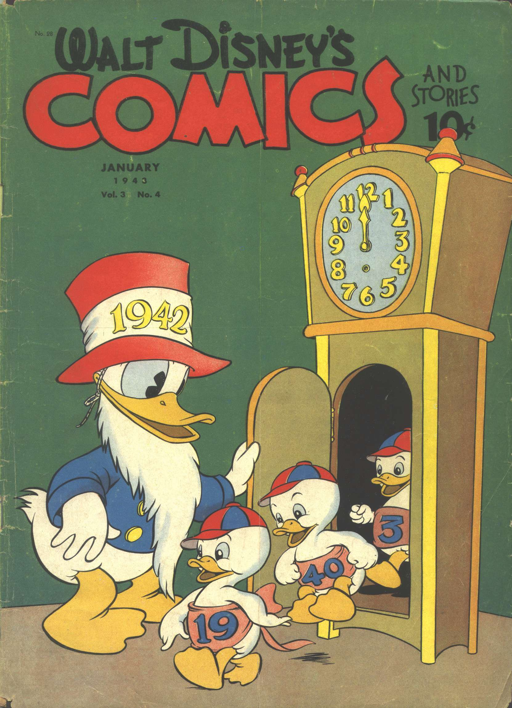 Walt Disneys Comics and Stories 28 Page 1