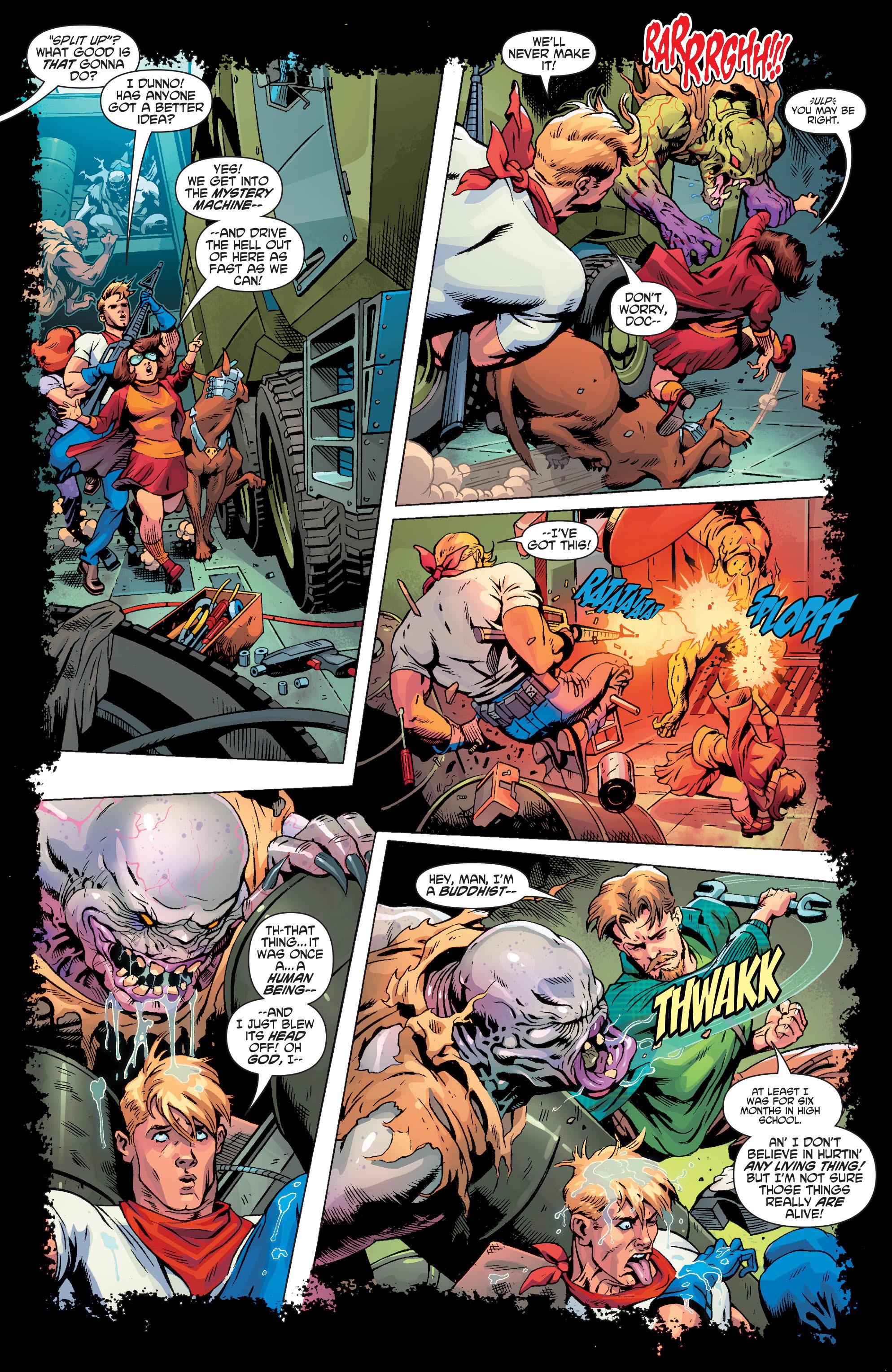 Read online Scooby Apocalypse comic -  Issue #3 - 8