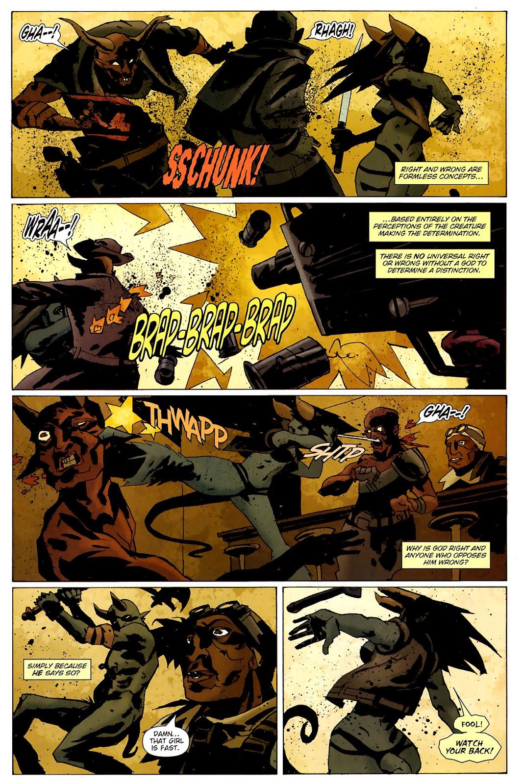 Strange Girl Issue #15 #16 - English 15
