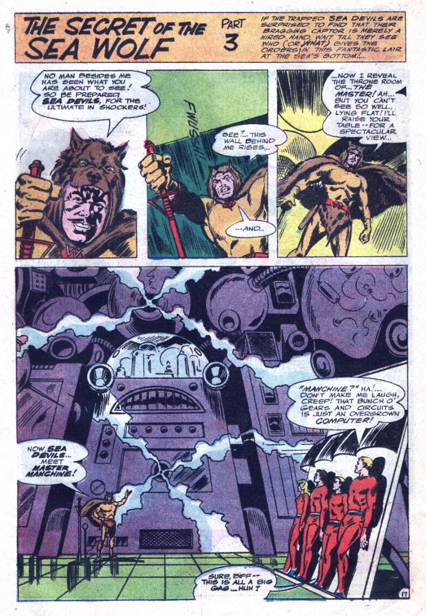 Read online Sea Devils comic -  Issue #33 - 25