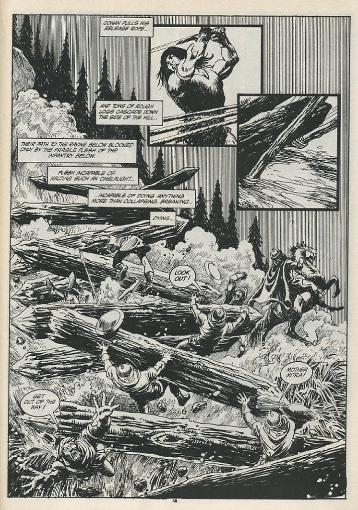 The Savage Sword Of Conan Issue #189 #190 - English 51