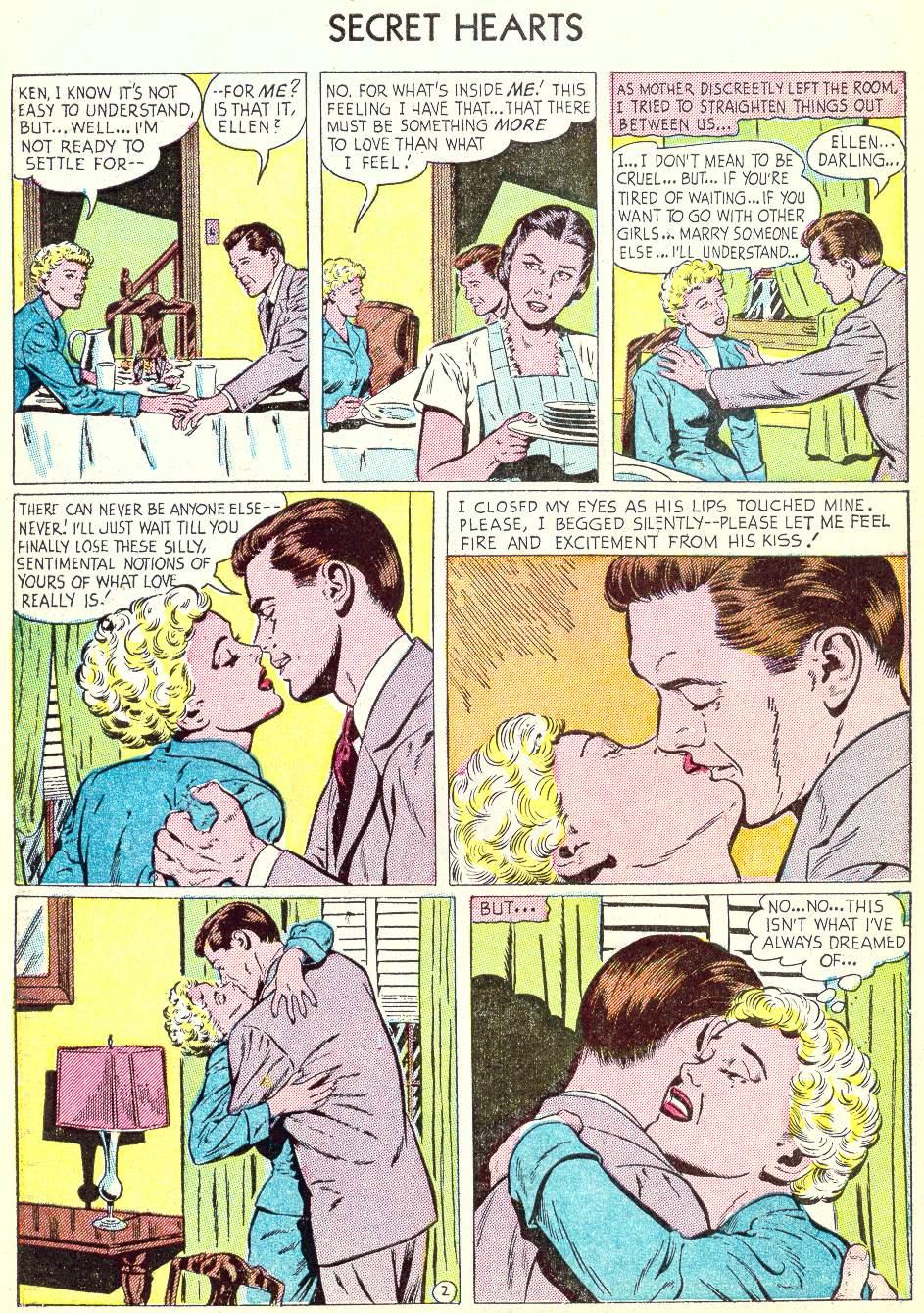 Read online Secret Hearts comic -  Issue #22 - 10