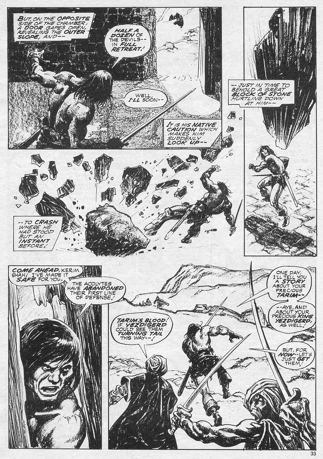 The Savage Sword Of Conan Issue #18 #19 - English 33