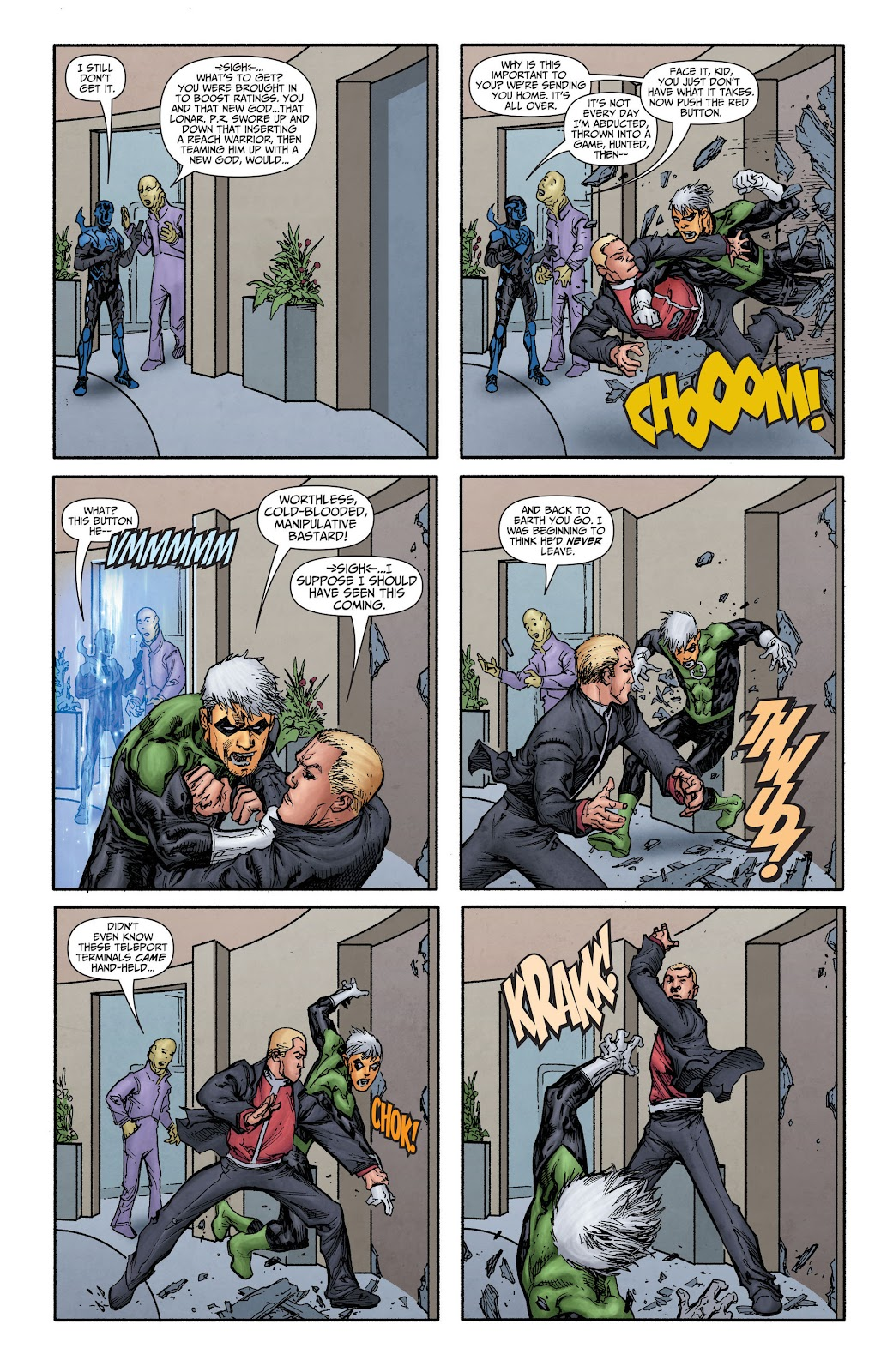 Threshold (2013) Issue #8 #8 - English 13