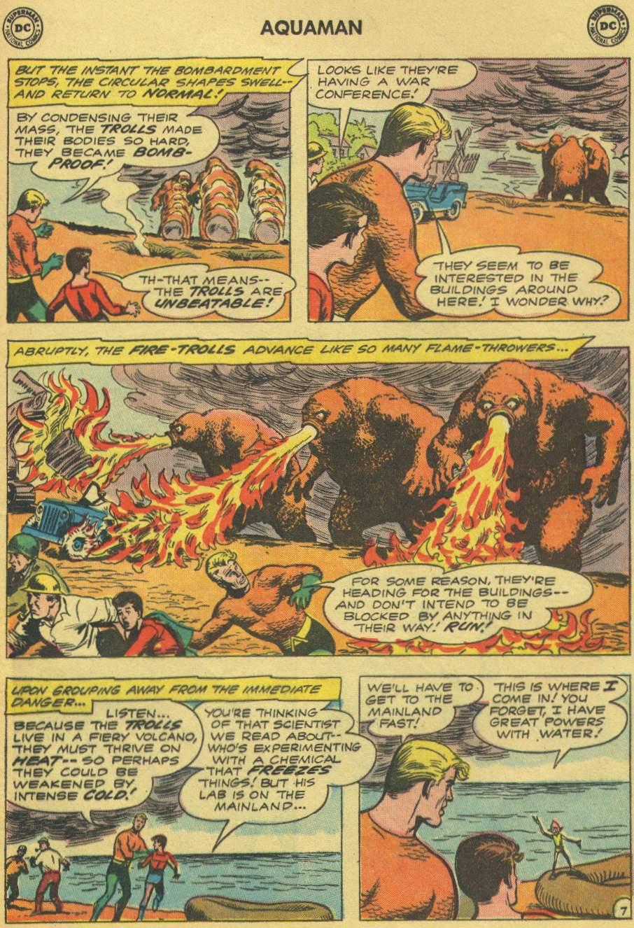 Read online Aquaman (1962) comic -  Issue #1 - 9