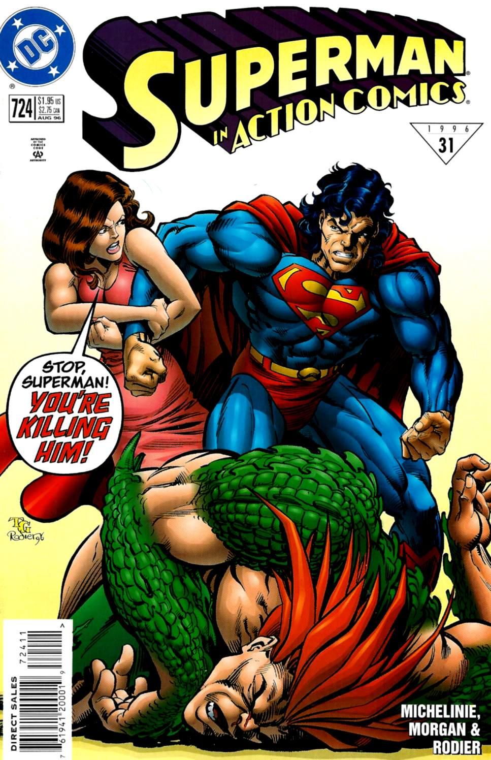 Action Comics (1938) 724 Page 1