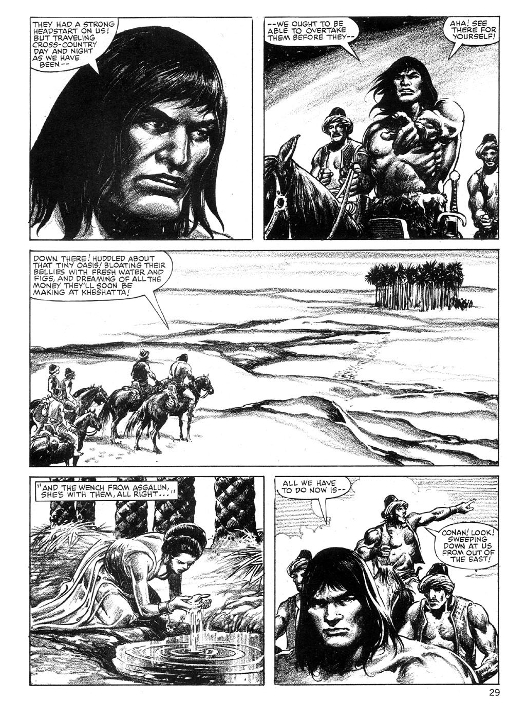 The Savage Sword Of Conan Issue #89 #90 - English 29