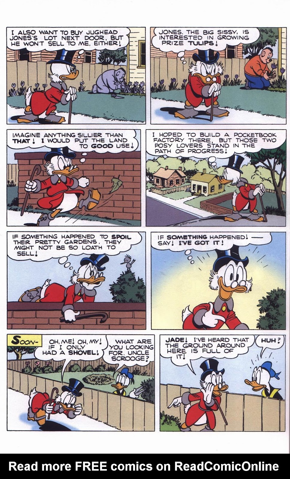 Uncle Scrooge (1953) Issue #311 #311 - English 56