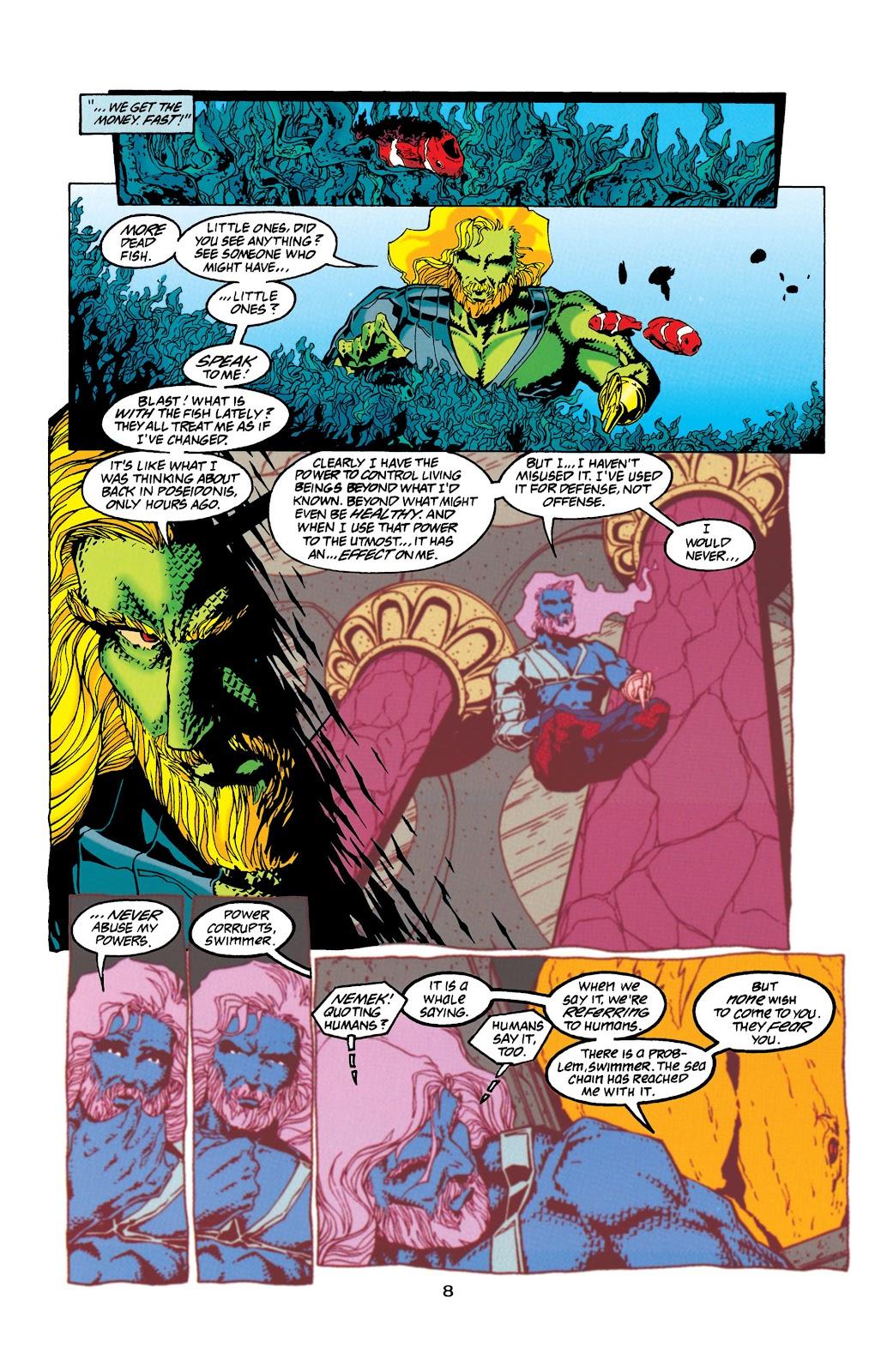 Aquaman (1994) Issue #32 #38 - English 8