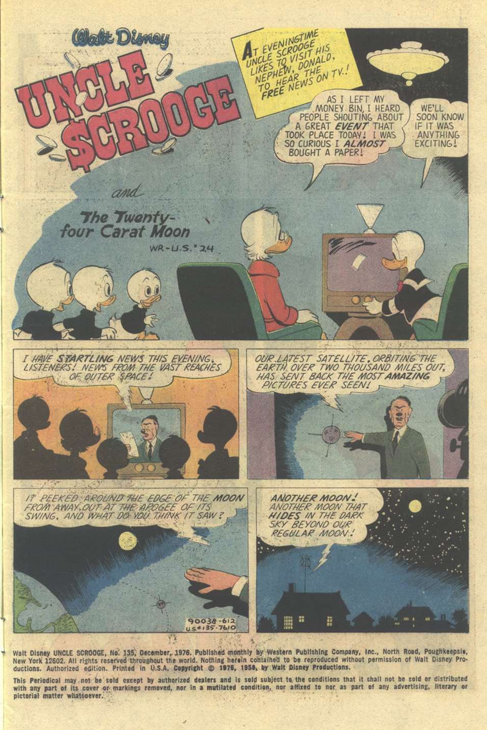 Uncle Scrooge (1953) Issue #135 #135 - English 3