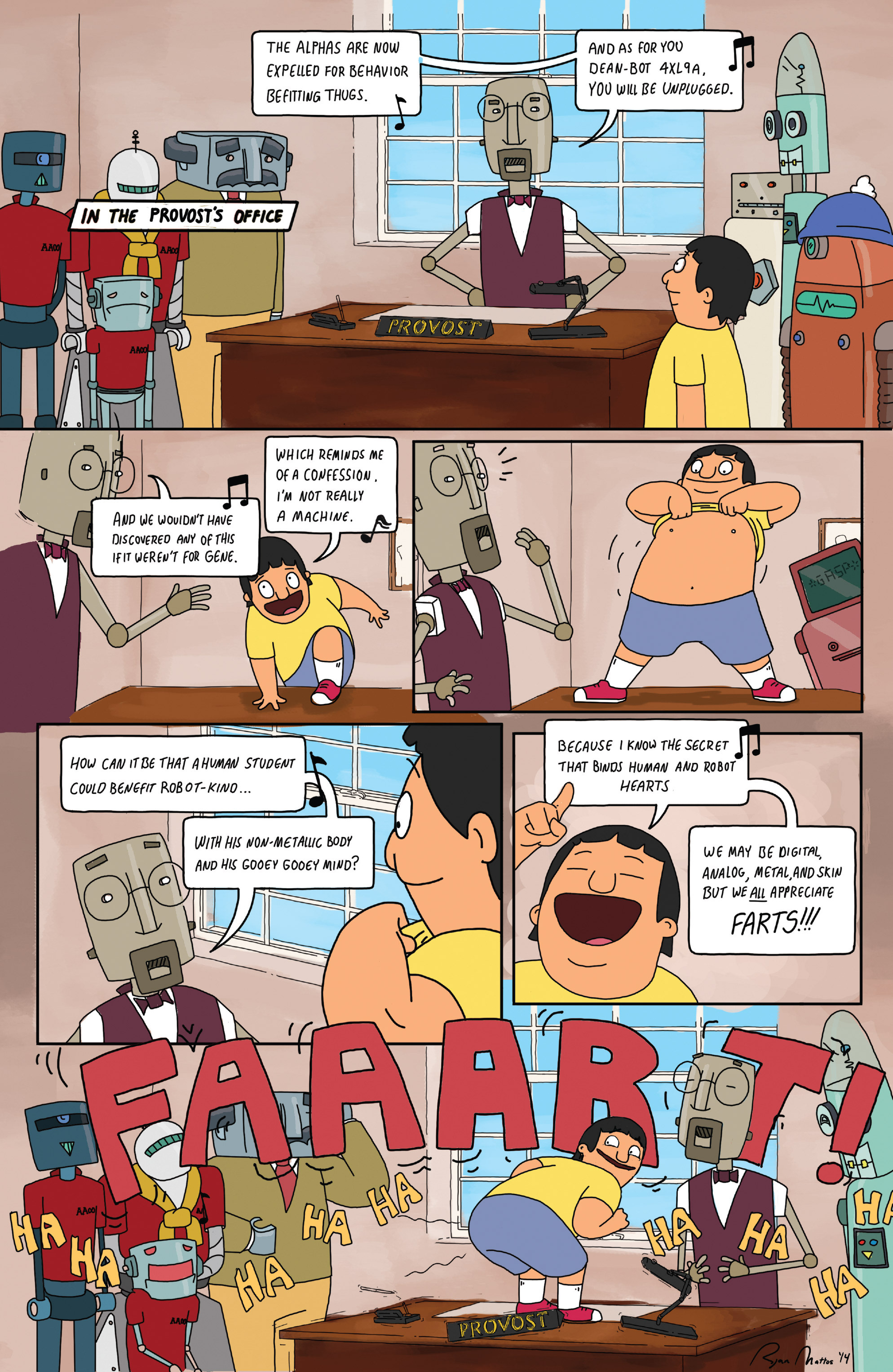 Read online Bob's Burgers (2014) comic -  Issue #5 - 24