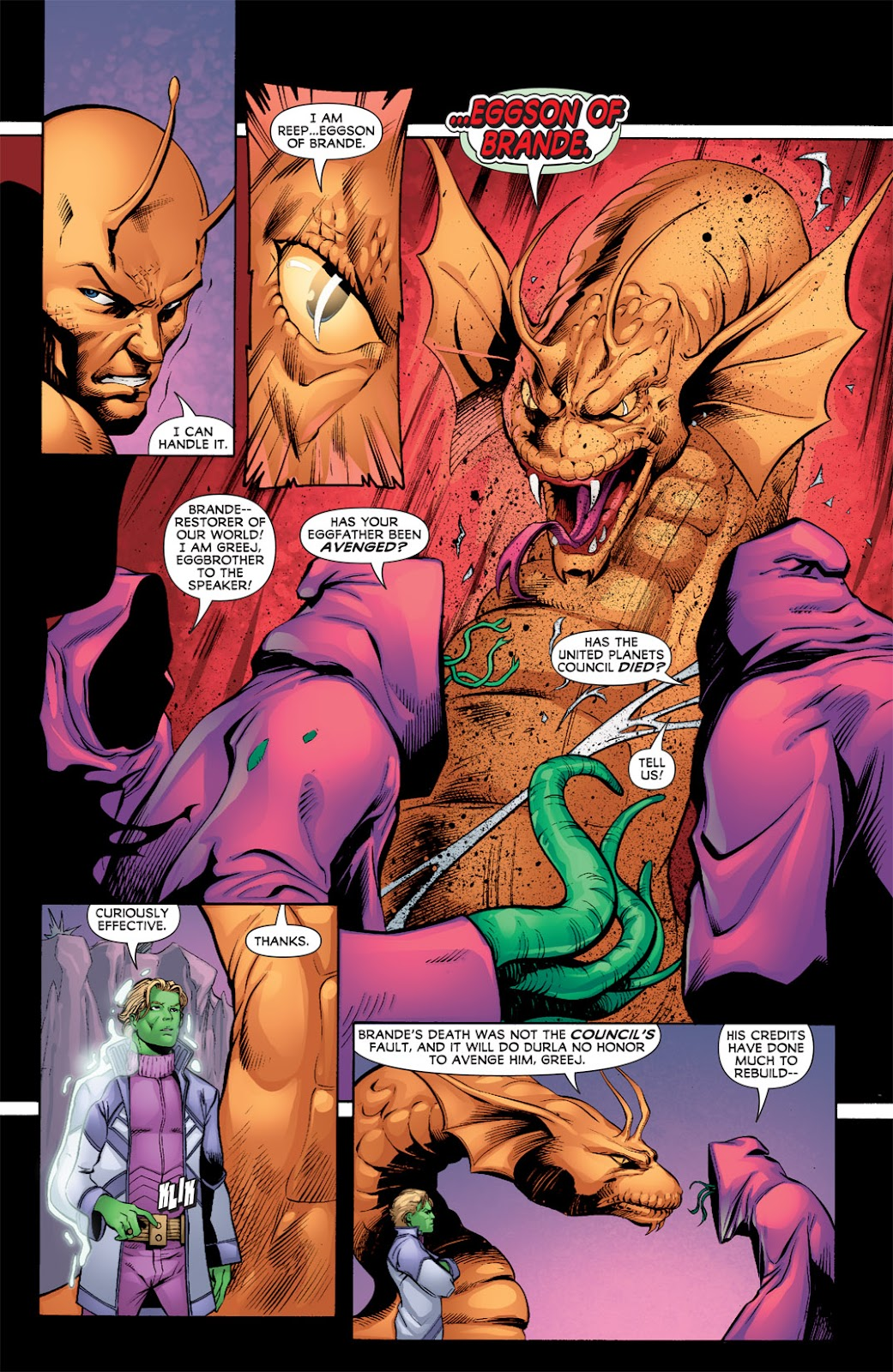 Legion of Super-Heroes (2010) Issue #9 #10 - English 4