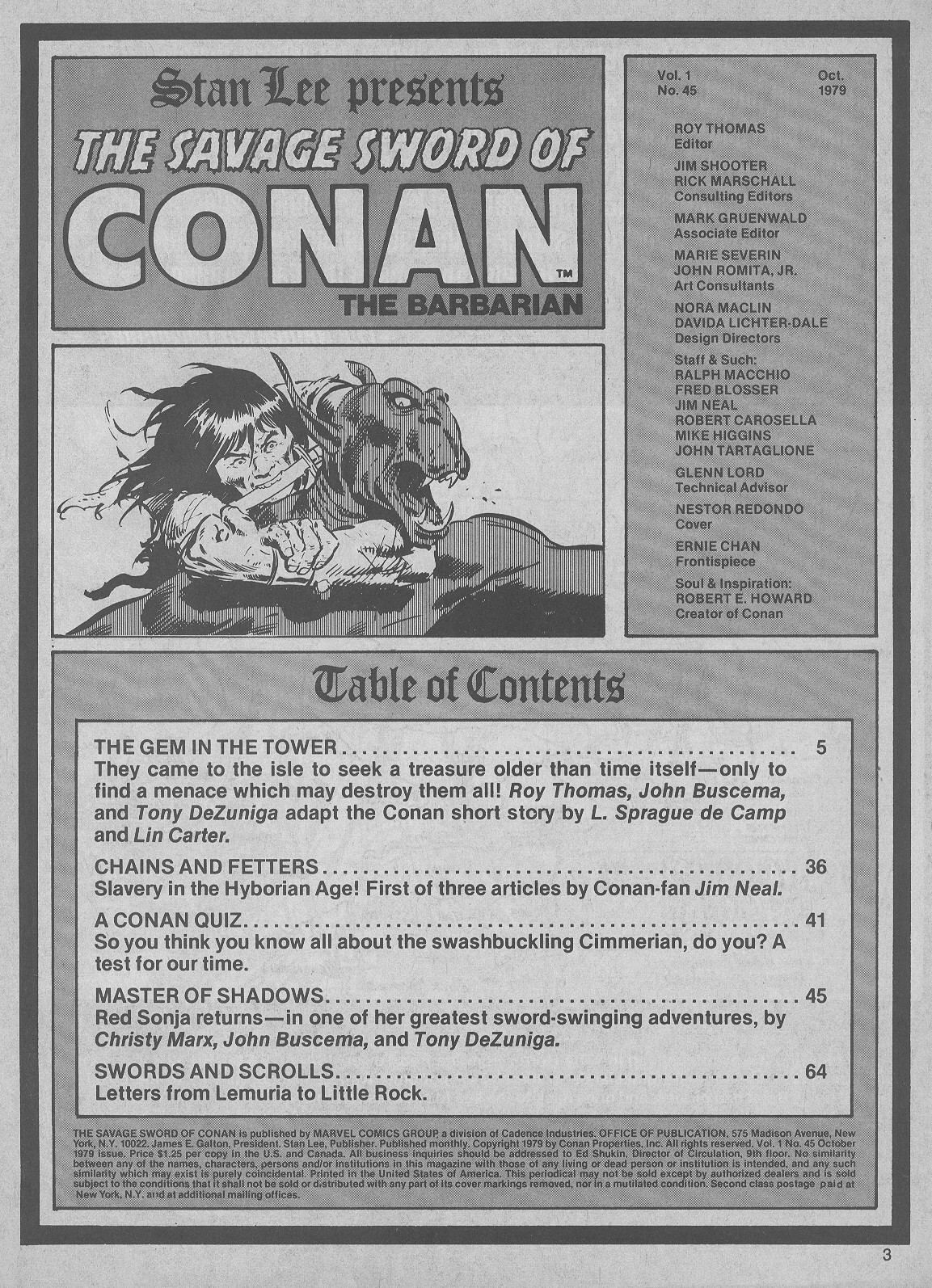 The Savage Sword Of Conan Issue #45 #46 - English 3