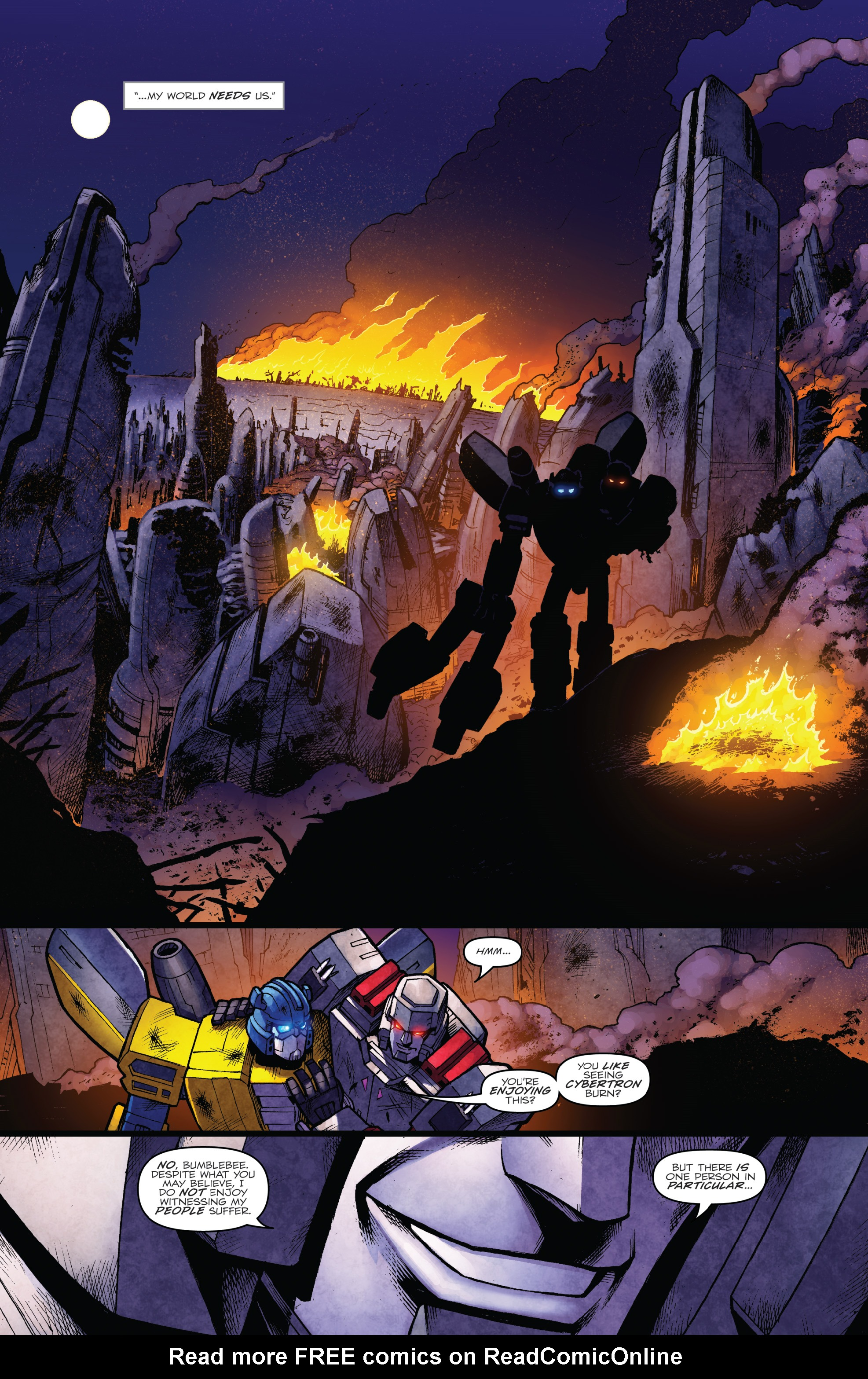 Read online The Transformers: Dark Cybertron Finale comic -  Issue # Full - 23