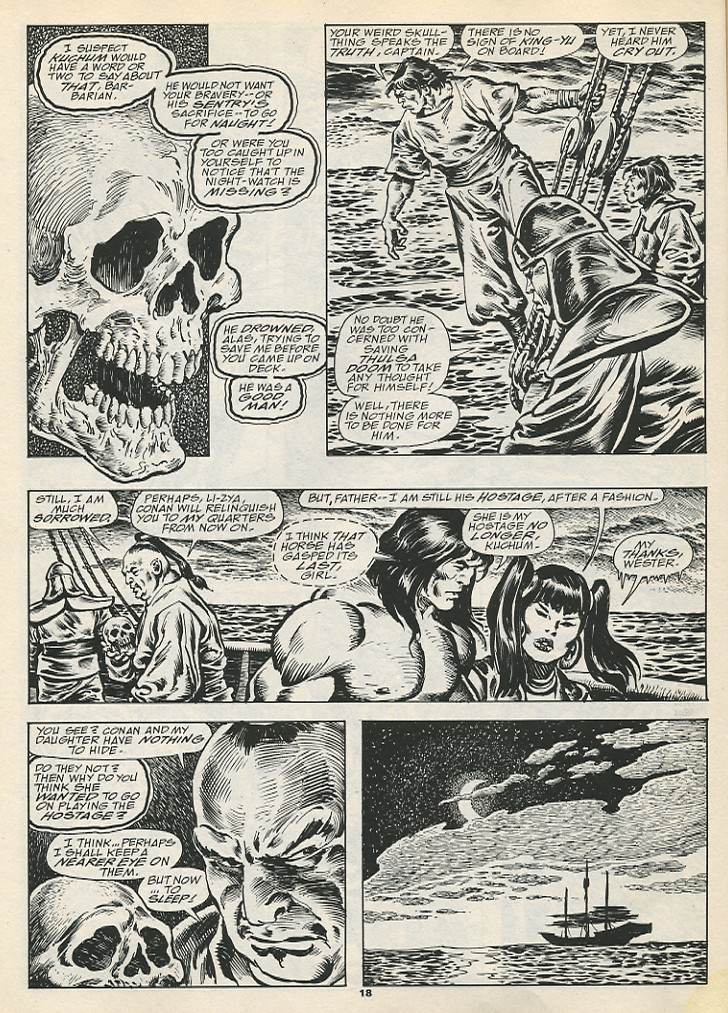 The Savage Sword Of Conan Issue #192 #193 - English 20