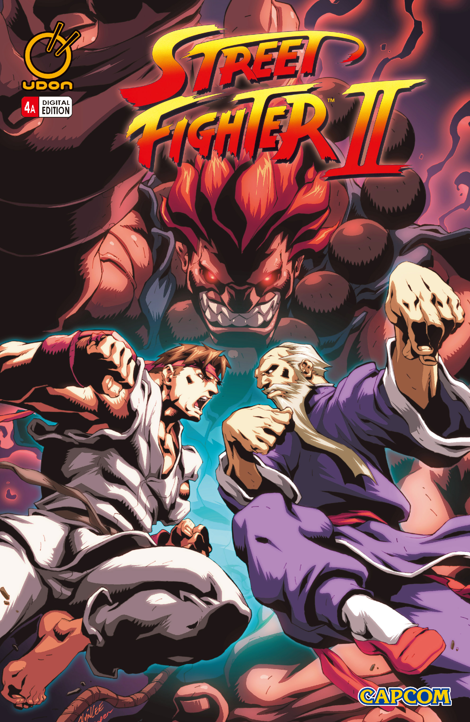 Street Fighter II chap 4 pic 1