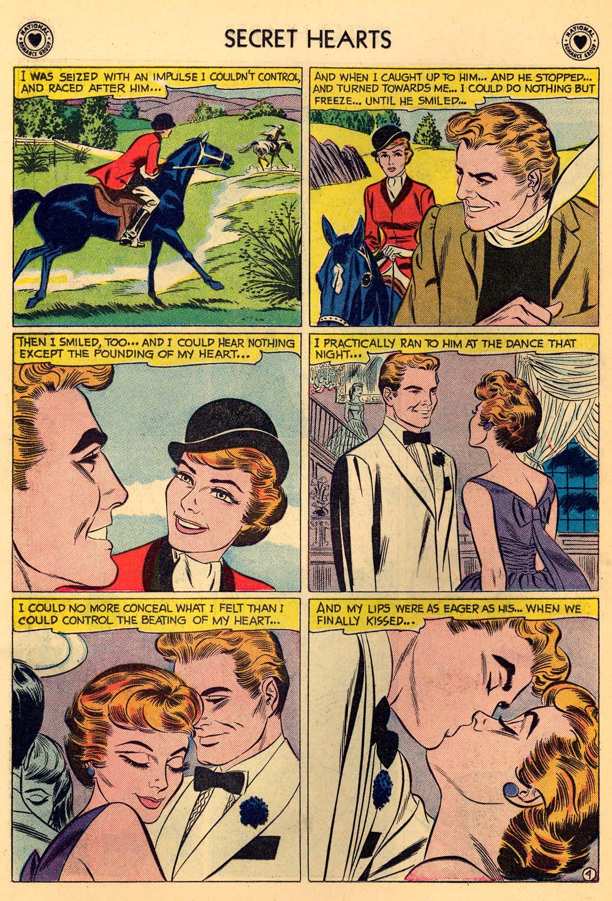 Read online Secret Hearts comic -  Issue #55 - 30