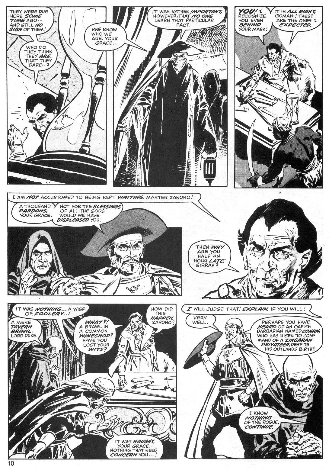 The Savage Sword Of Conan Issue #40 #41 - English 10