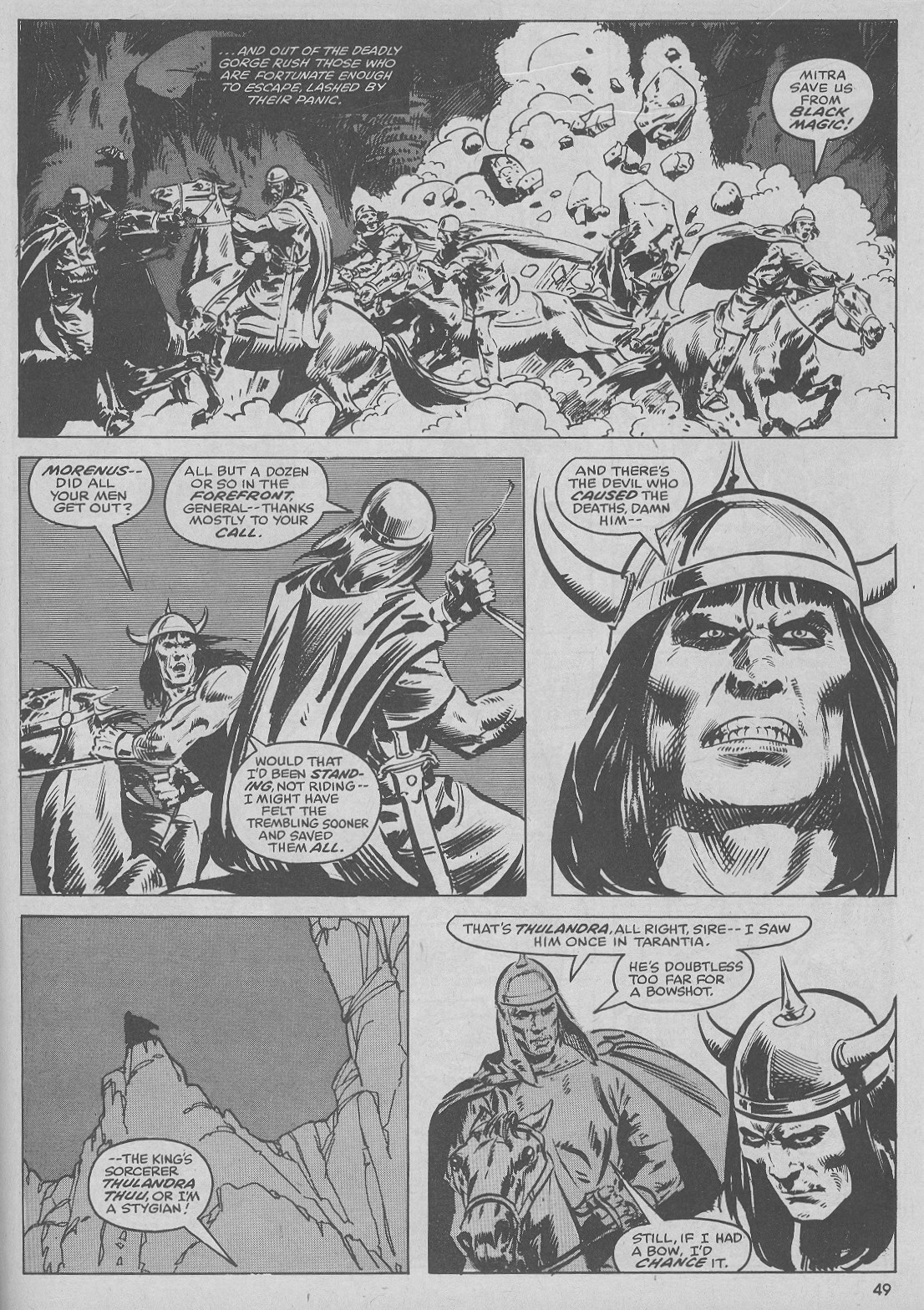 The Savage Sword Of Conan Issue #51 #52 - English 49