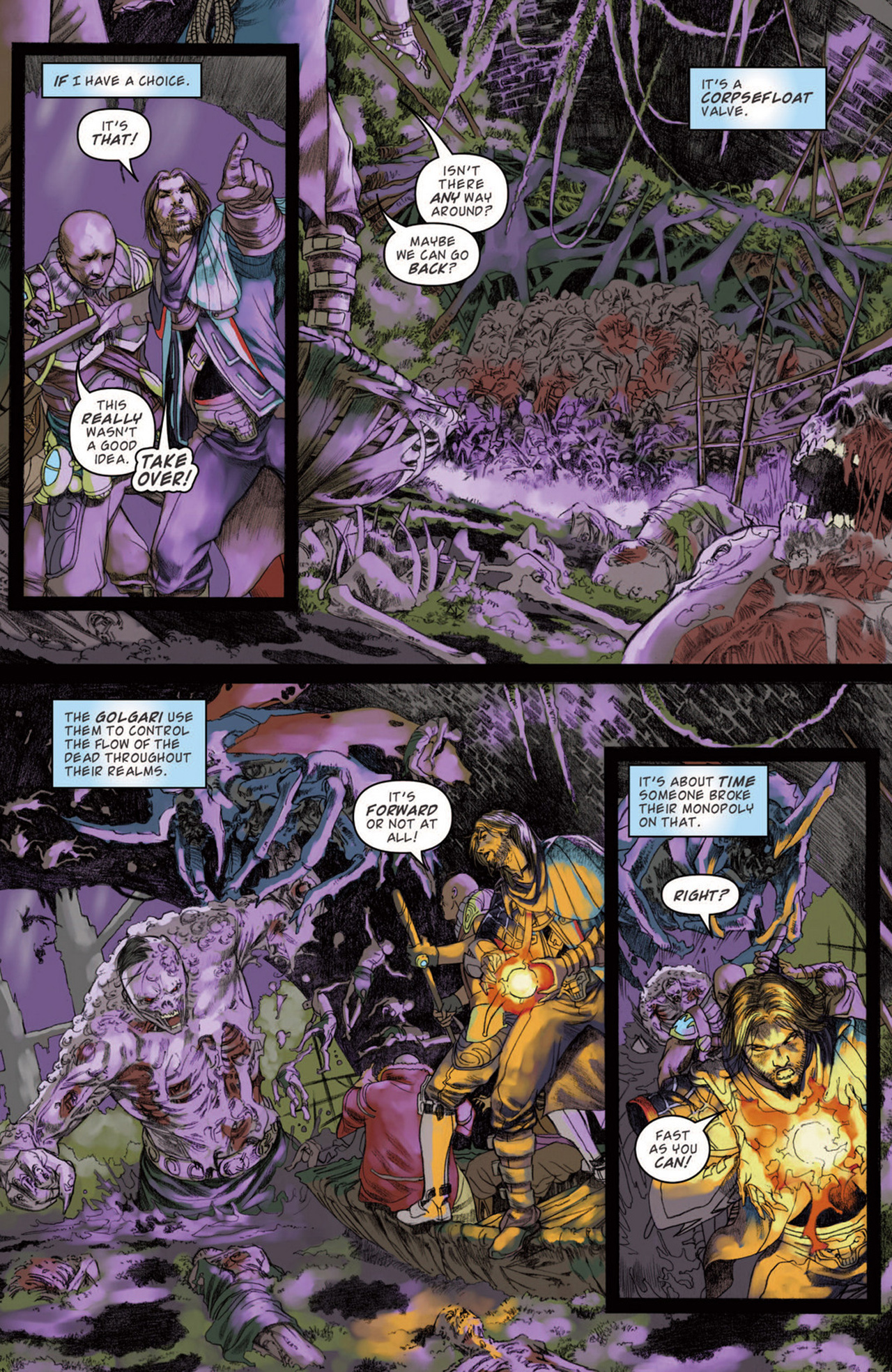 Read online Magic: The Gathering--Path of Vengeance comic -  Issue #3 - 19